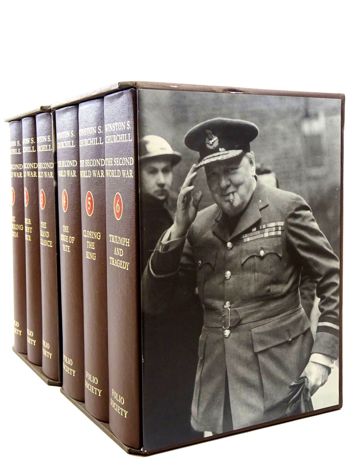 Photo of THE SECOND WORLD WAR (6 VOLUMES)
