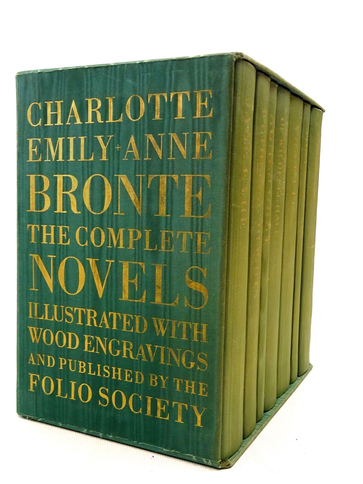Photo of CHARLOTTE, EMILY & ANNE BRONTE THE COMPLETE NOVELS (7 VOLUMES) written by Bronte, Charlotte<br />Bronte, Emily<br />Bronte, Anne illustrated by Forster, Peter<br />Brockway, Harry<br />Stephens, Ian<br />et al.,  published by Folio Society (STOCK CODE: 2126070)  for sale by Stella & Rose's Books