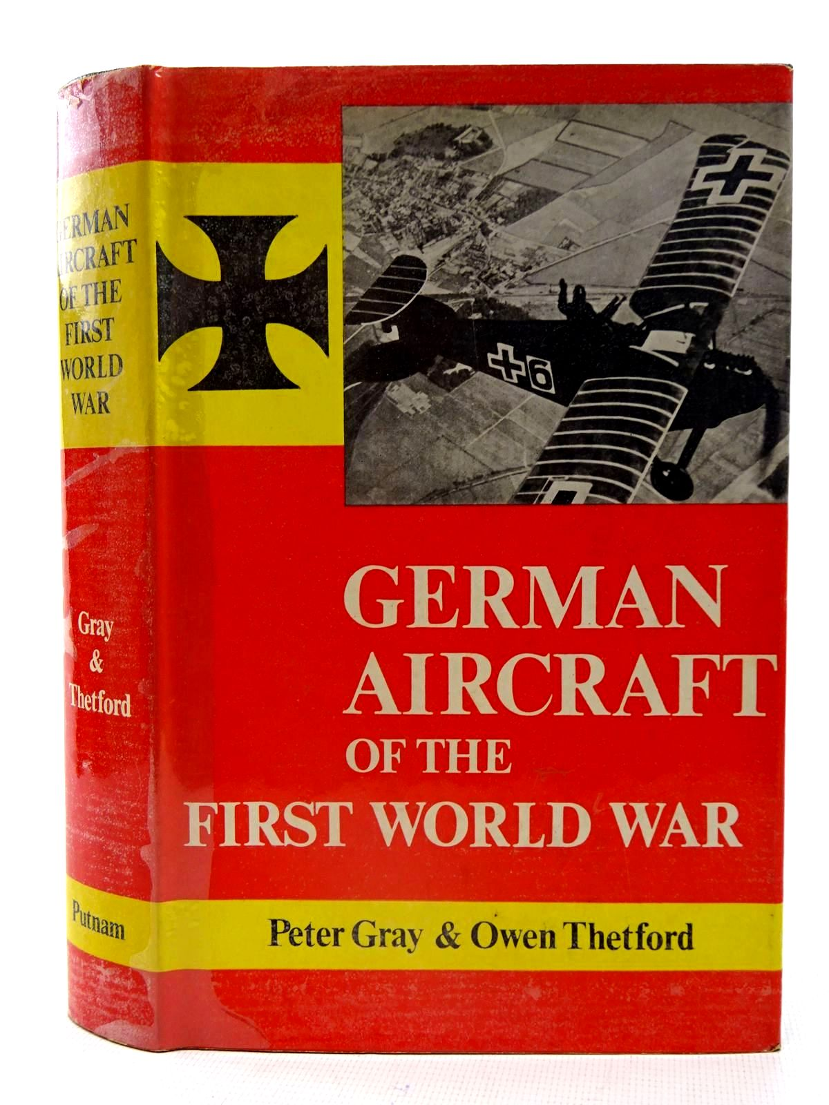 Photo of GERMAN AIRCRAFT OF THE FIRST WORLD WAR written by Gray, Peter<br />Thetford, Owen published by Putnam (STOCK CODE: 2126109)  for sale by Stella & Rose's Books