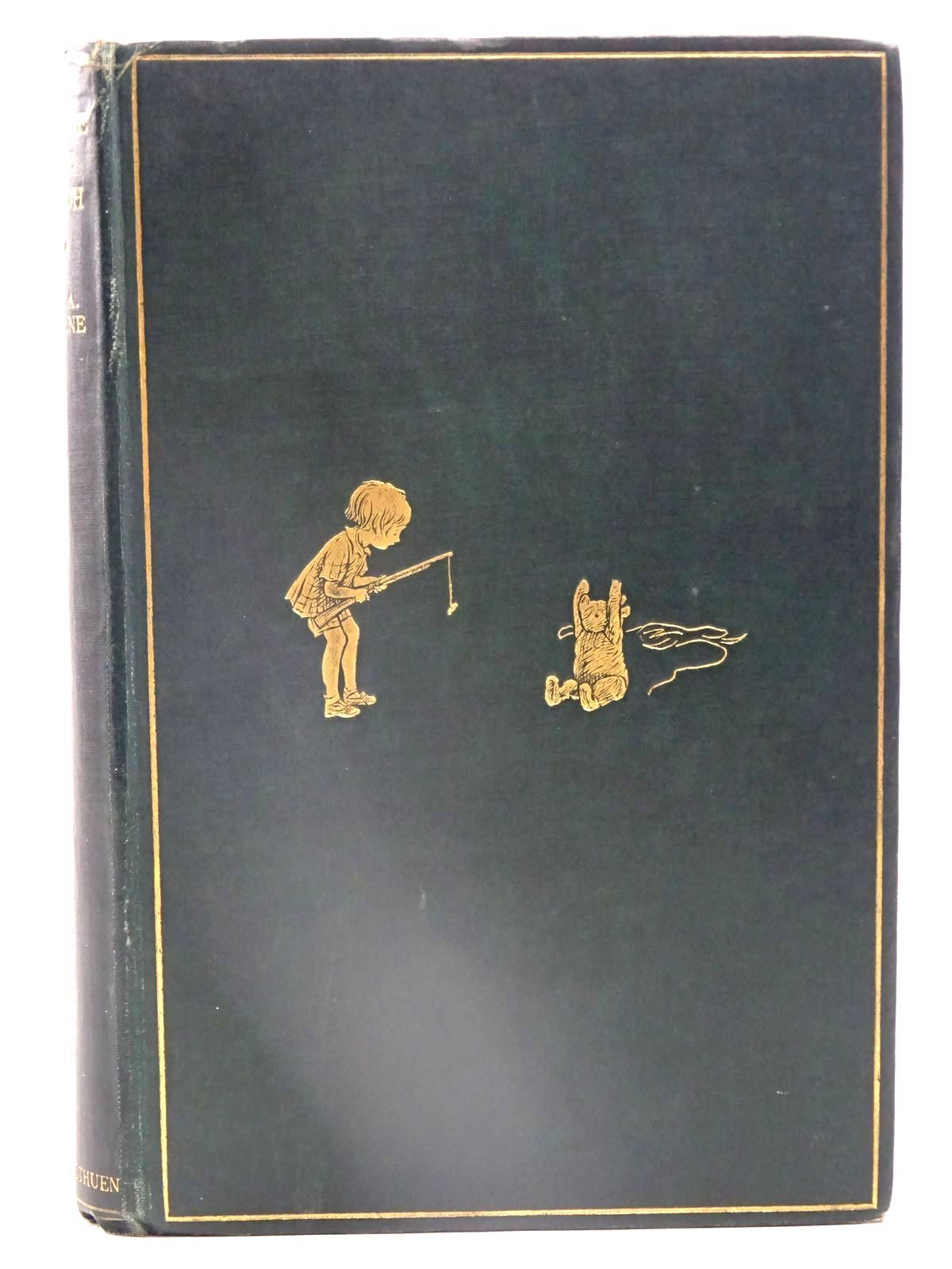 Photo of WINNIE-THE-POOH written by Milne, A.A. illustrated by Shepard, E.H. published by Methuen & Co. Ltd. (STOCK CODE: 2126225)  for sale by Stella & Rose's Books