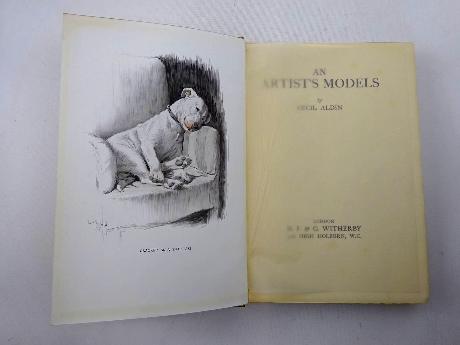 Photo of AN ARTIST'S MODELS written by Aldin, Cecil illustrated by Aldin, Cecil published by H. F. & G. Witherby (STOCK CODE: 2126236)  for sale by Stella & Rose's Books