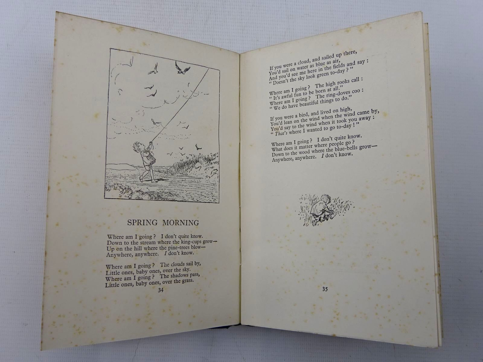 Photo of WHEN WE WERE VERY YOUNG written by Milne, A.A. illustrated by Shepard, E.H. published by Methuen & Co. Ltd. (STOCK CODE: 2126238)  for sale by Stella & Rose's Books
