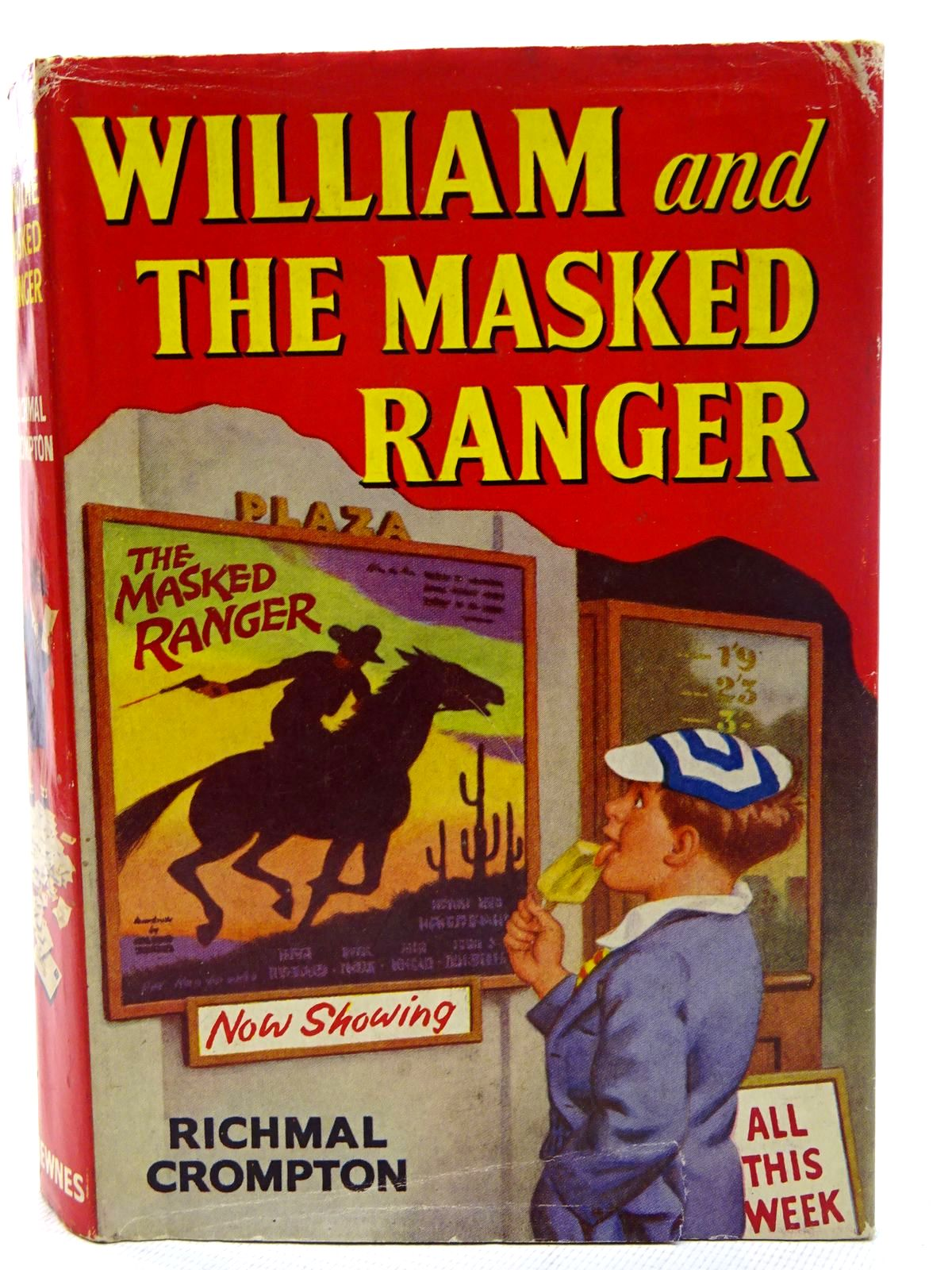 Photo of WILLIAM AND THE MASKED RANGER written by Crompton, Richmal illustrated by Ford, Henry published by George Newnes Ltd. (STOCK CODE: 2126239)  for sale by Stella & Rose's Books