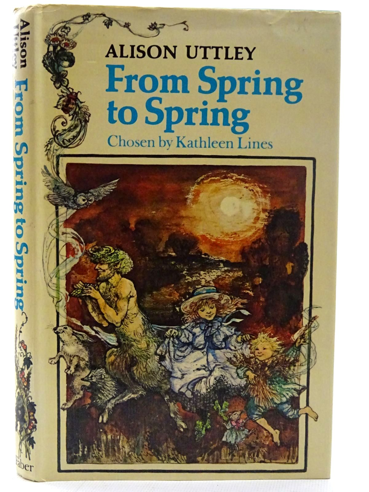 Photo of FROM SPRING TO SPRING written by Uttley, Alison illustrated by Hughes, Shirley published by Faber & Faber (STOCK CODE: 2126262)  for sale by Stella & Rose's Books