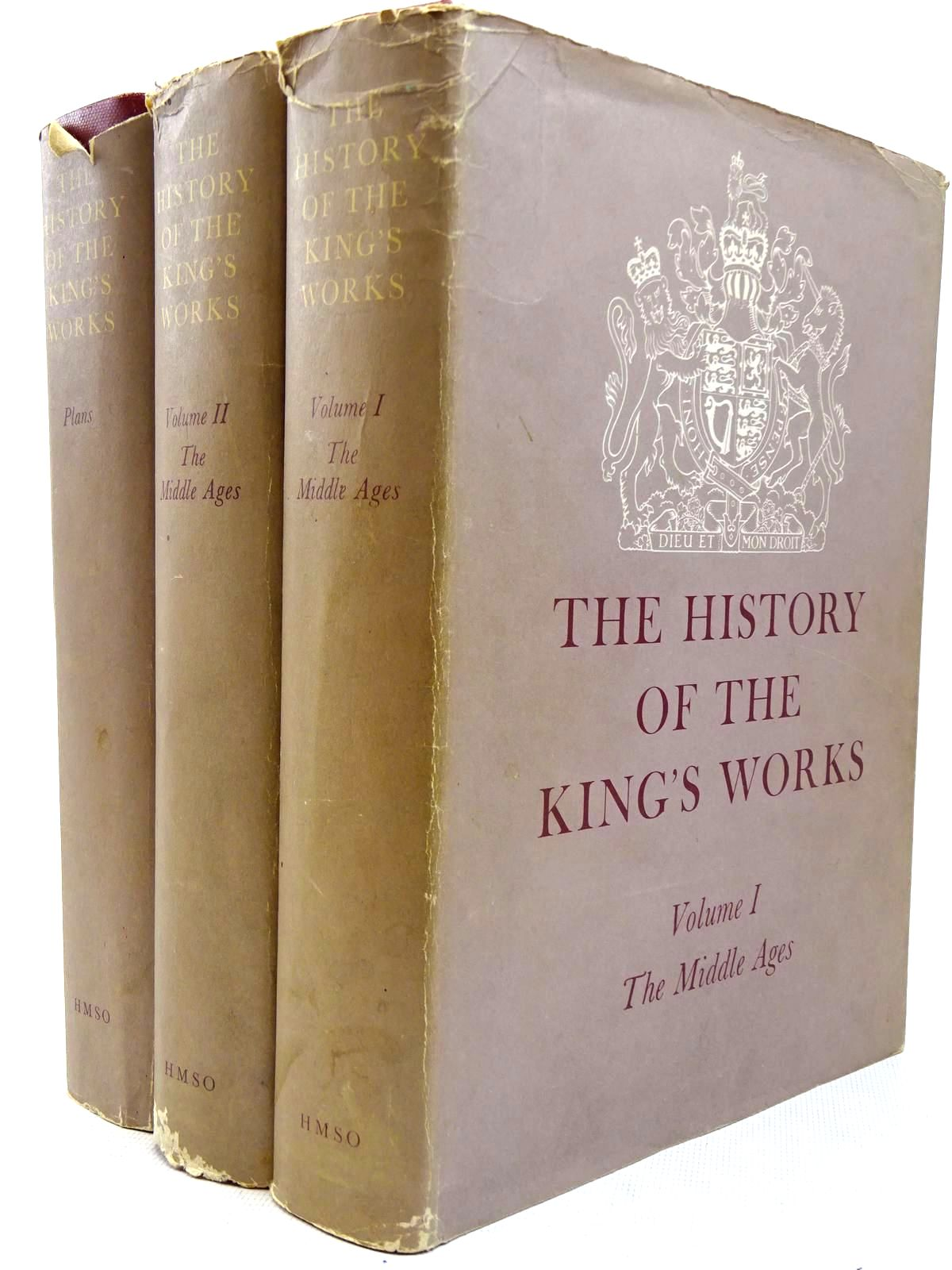 Photo of THE HISTORY OF THE KING'S WORKS THE MIDDLE AGES (3 VOLUMES) written by Colvin, H.M.<br />Brown, R. Allen<br />Taylor, A.J. published by HMSO (STOCK CODE: 2126317)  for sale by Stella & Rose's Books
