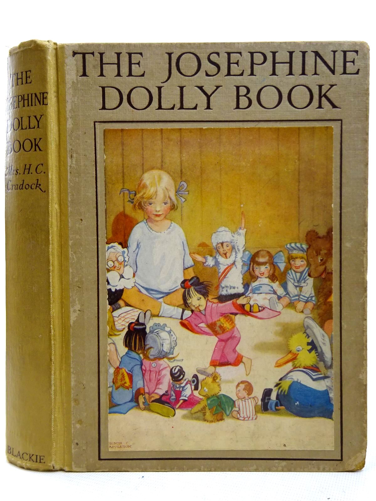 Photo of THE JOSEPHINE DOLLY BOOK written by Cradock, Mrs. H.C. illustrated by Appleton, Honor C. published by Blackie & Son Ltd. (STOCK CODE: 2126375)  for sale by Stella & Rose's Books