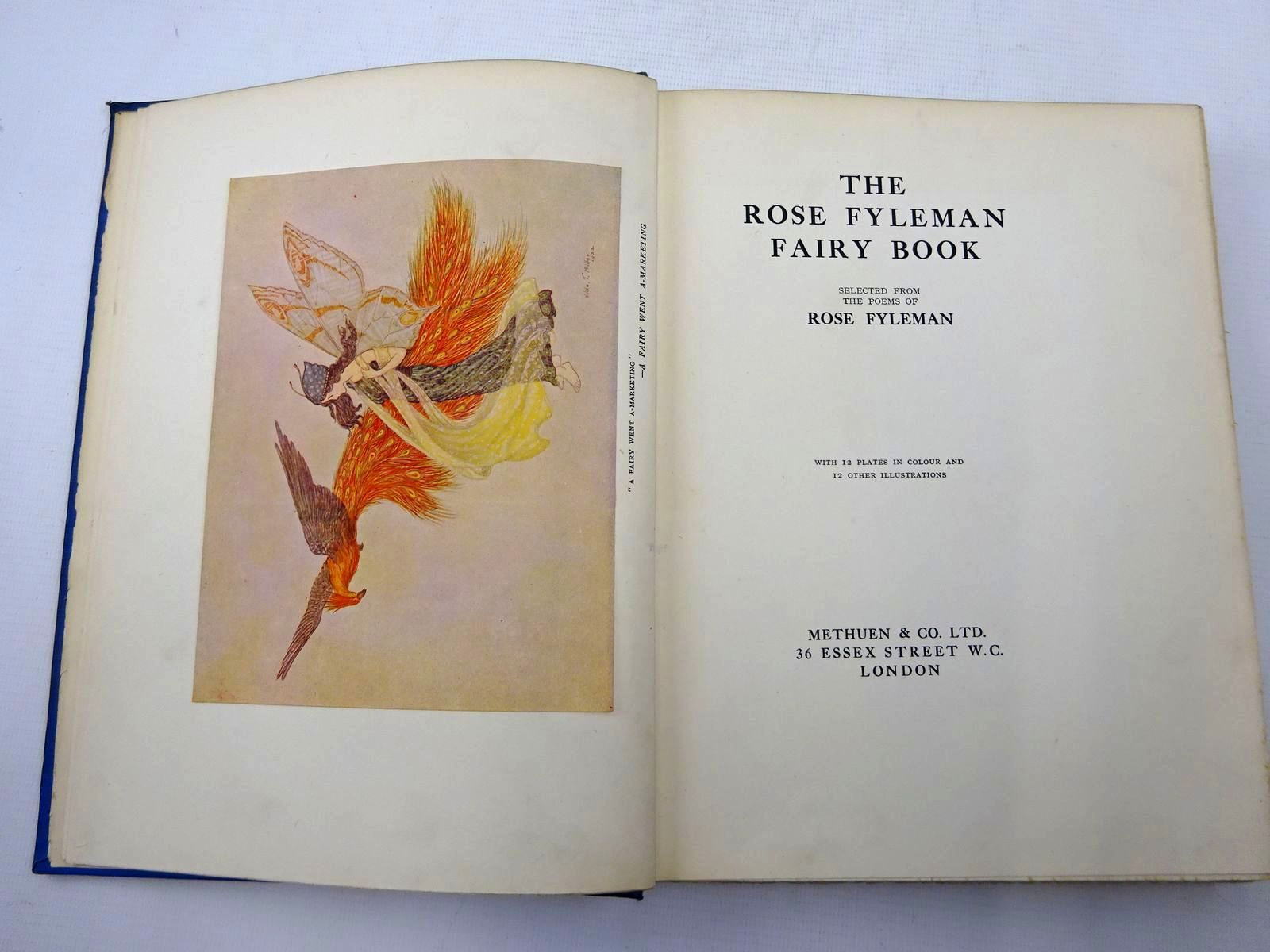 Photo of THE ROSE FYLEMAN FAIRY BOOK written by Fyleman, Rose illustrated by Miller, Hilda T. published by Methuen & Co. Ltd. (STOCK CODE: 2126378)  for sale by Stella & Rose's Books