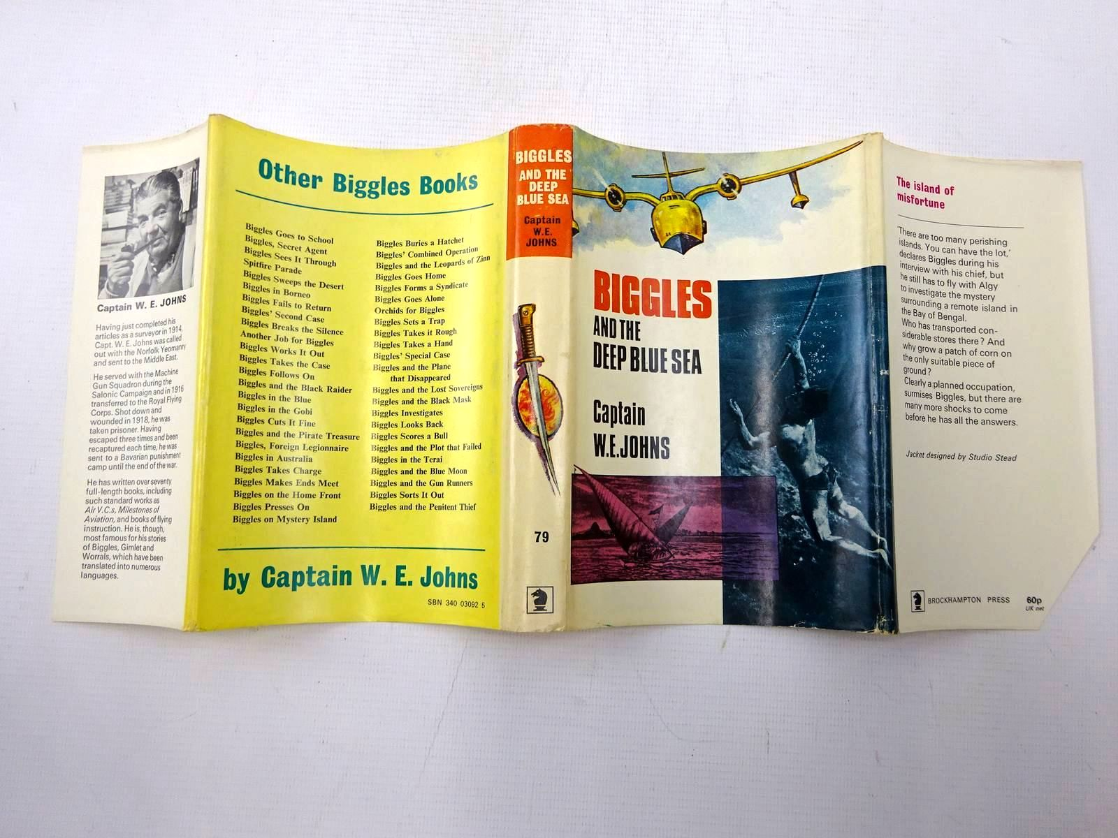 Photo of BIGGLES AND THE DEEP BLUE SEA written by Johns, W.E. published by Brockhampton Press (STOCK CODE: 2126434)  for sale by Stella & Rose's Books