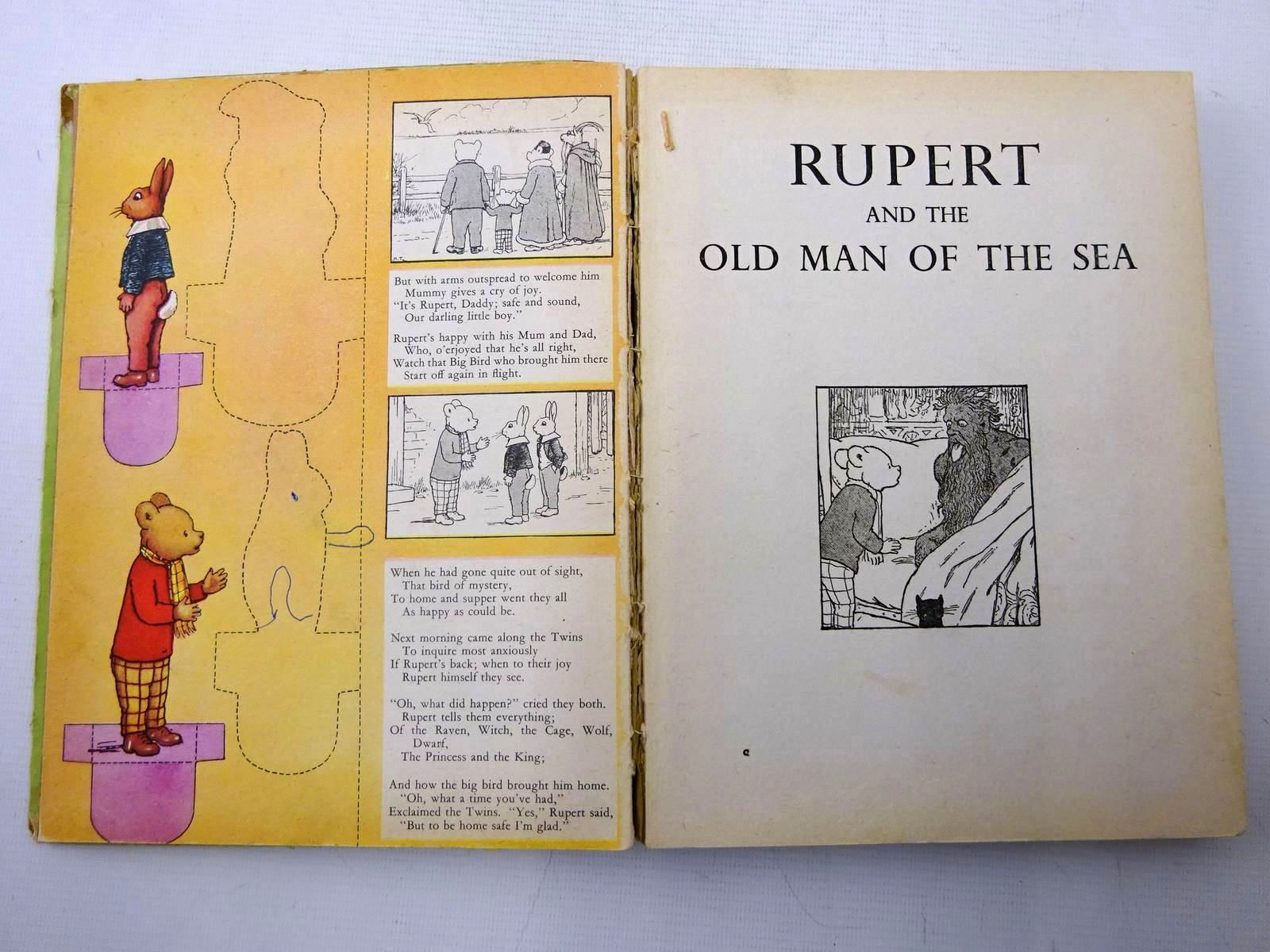 Photo of THE MONSTER RUPERT written by Tourtel, Mary illustrated by Tourtel, Mary published by Sampson Low, Marston & Co. Ltd. (STOCK CODE: 2126450)  for sale by Stella & Rose's Books