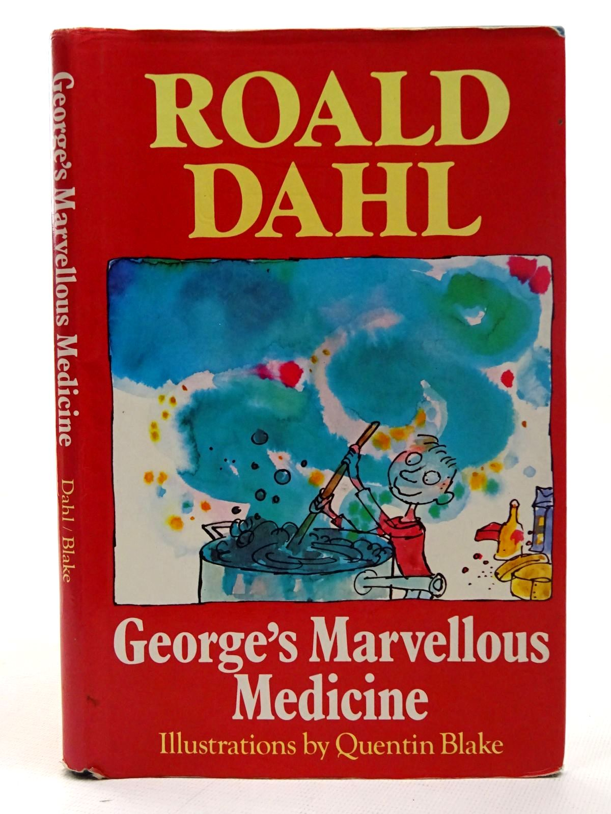 Photo of GEORGE'S MARVELLOUS MEDICINE written by Dahl, Roald illustrated by Blake, Quentin published by Jonathan Cape (STOCK CODE: 2126452)  for sale by Stella & Rose's Books