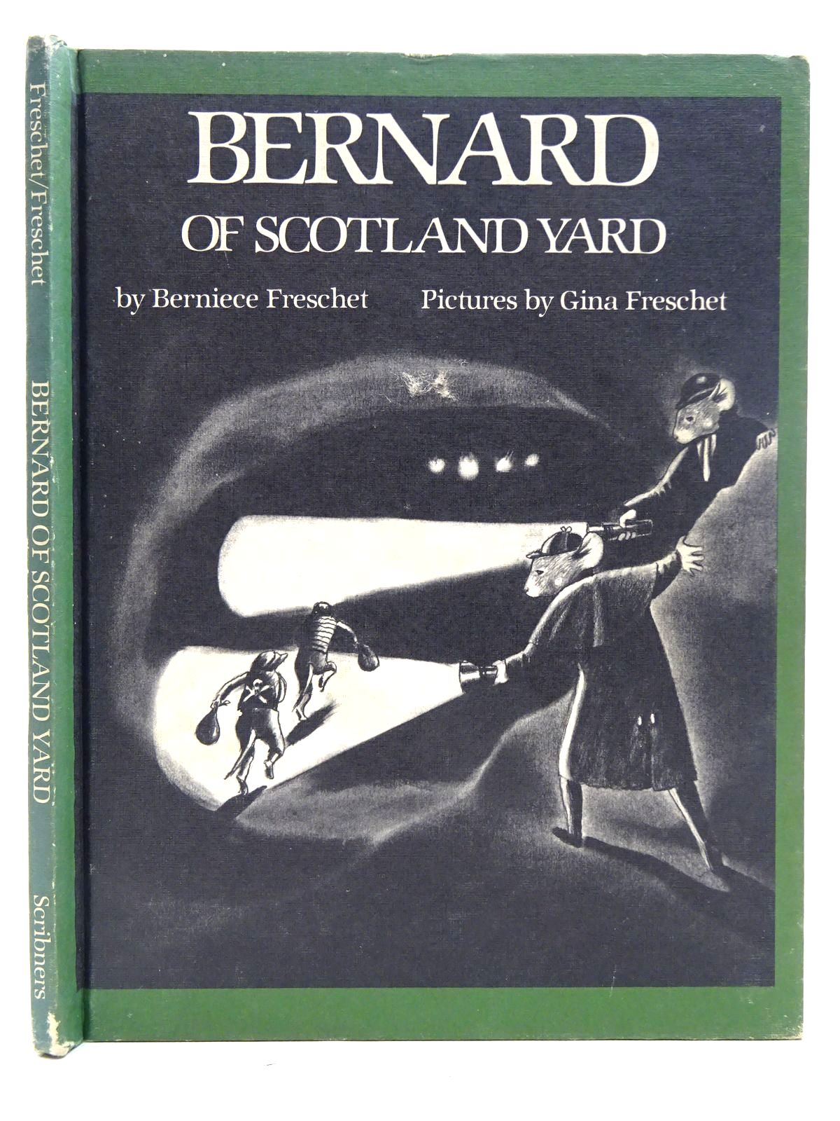 Photo of BERNARD OF SCOTLAND YARD written by Freschet, Berniece illustrated by Freschet, Gina published by Weekly Reader Books (STOCK CODE: 2126455)  for sale by Stella & Rose's Books