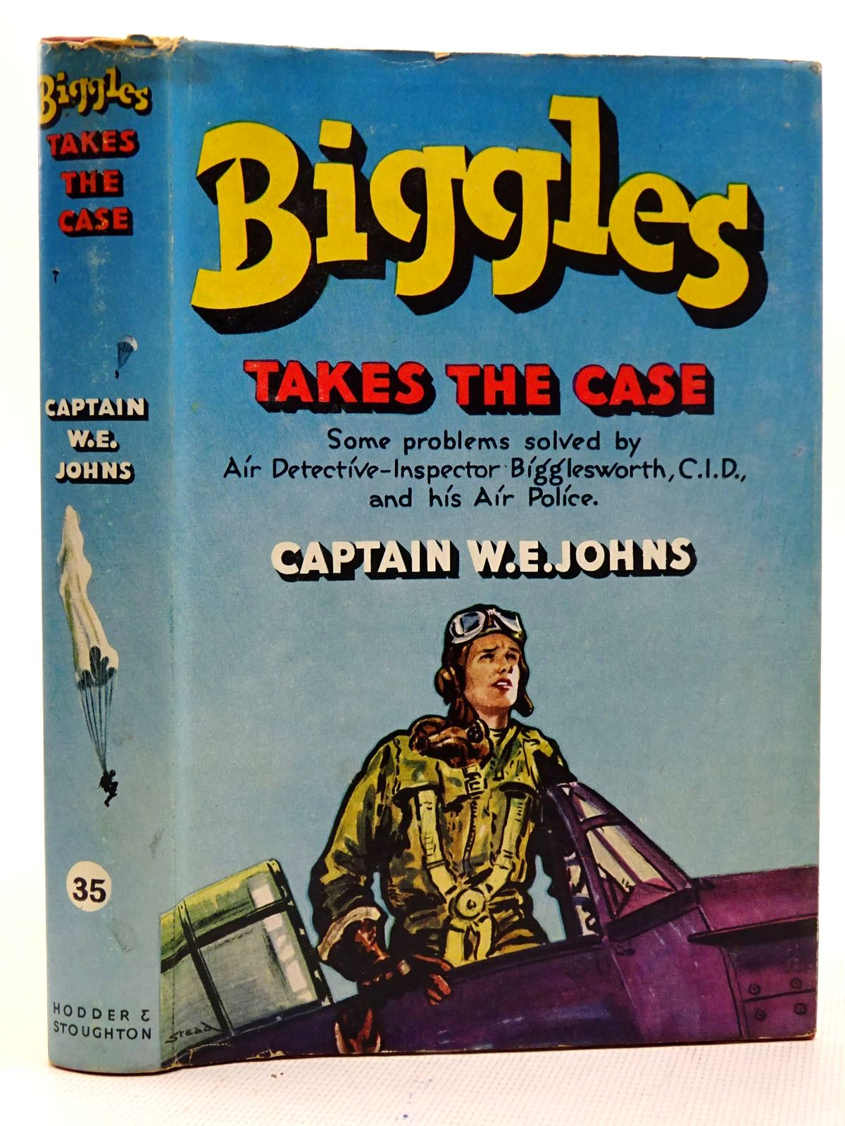Photo of BIGGLES TAKES THE CASE written by Johns, W.E. illustrated by Stead, Leslie published by Hodder & Stoughton (STOCK CODE: 2126472)  for sale by Stella & Rose's Books