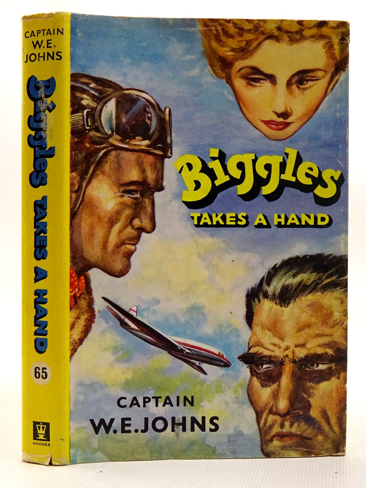 Photo of BIGGLES TAKES A HAND written by Johns, W.E. illustrated by Stead,  published by Hodder & Stoughton (STOCK CODE: 2126473)  for sale by Stella & Rose's Books