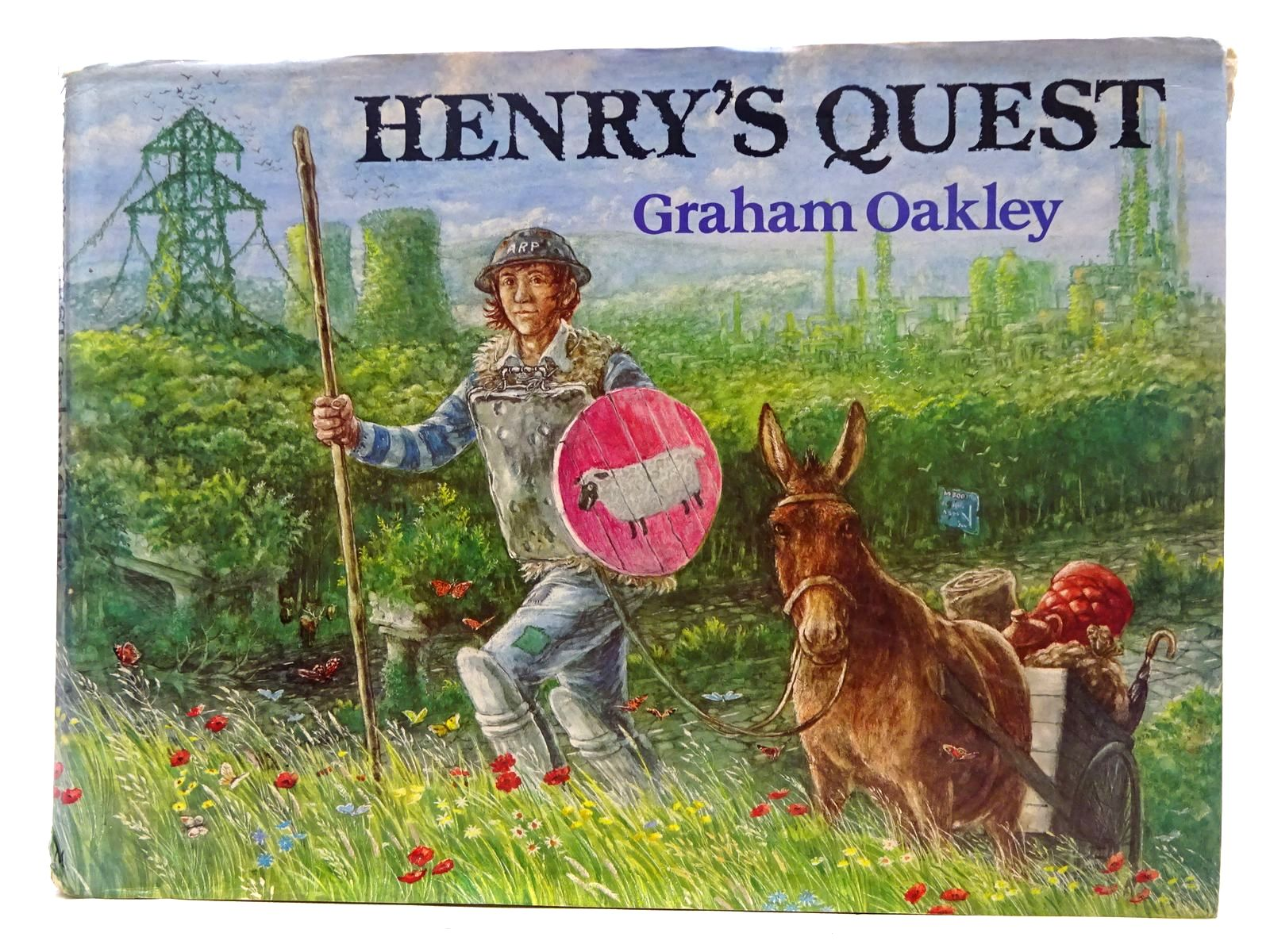 Photo of HENRY'S QUEST written by Oakley, Graham illustrated by Oakley, Graham published by Macmillan Children's Books (STOCK CODE: 2126542)  for sale by Stella & Rose's Books