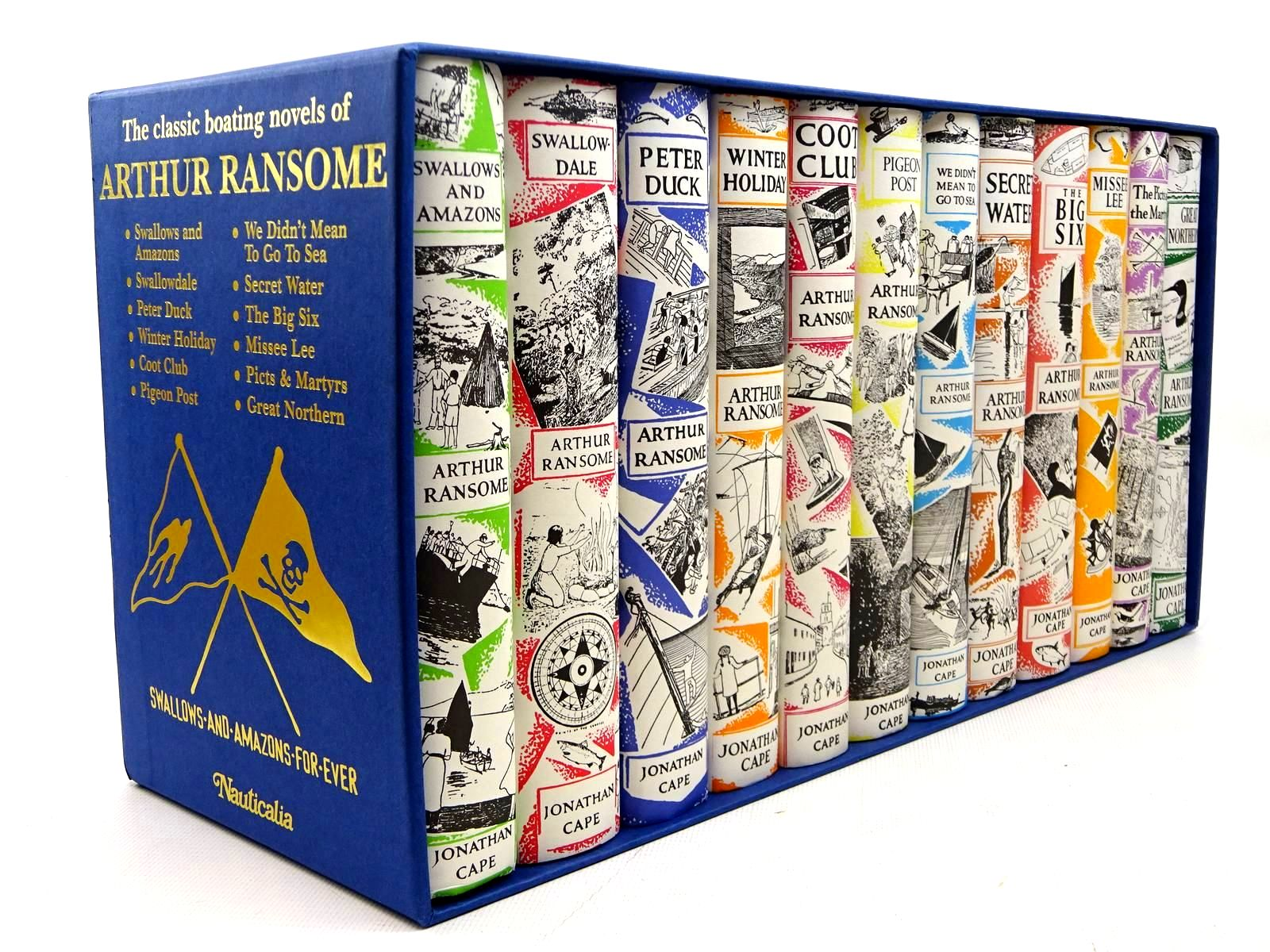 Photo of THE CLASSIC BOATING NOVELS OF ARTHUR RANSOME (12 VOLUMES)