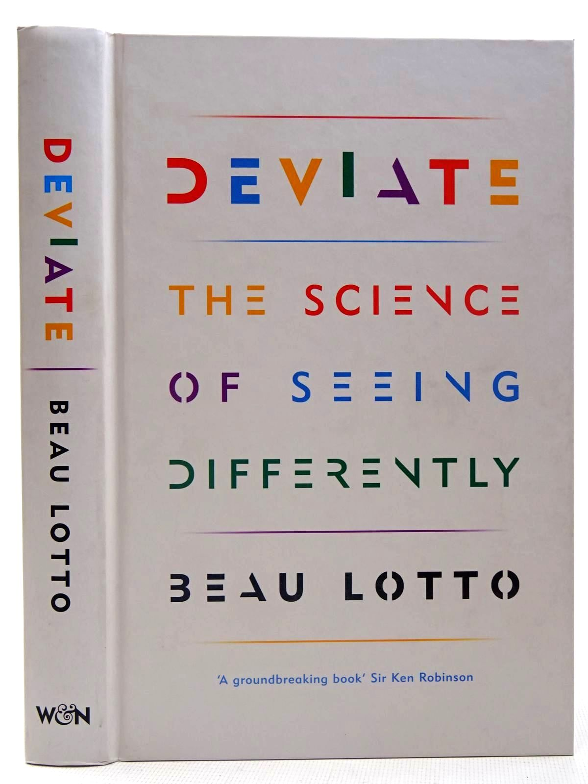 Photo of DEVIATE THE SCIENCE OF SEEING DIFFERENTLY written by Lotto, Beau illustrated by Cardilli, Luna Margherita<br />Socci, Ljudmilla published by Weidenfeld and Nicolson (STOCK CODE: 2126570)  for sale by Stella & Rose's Books