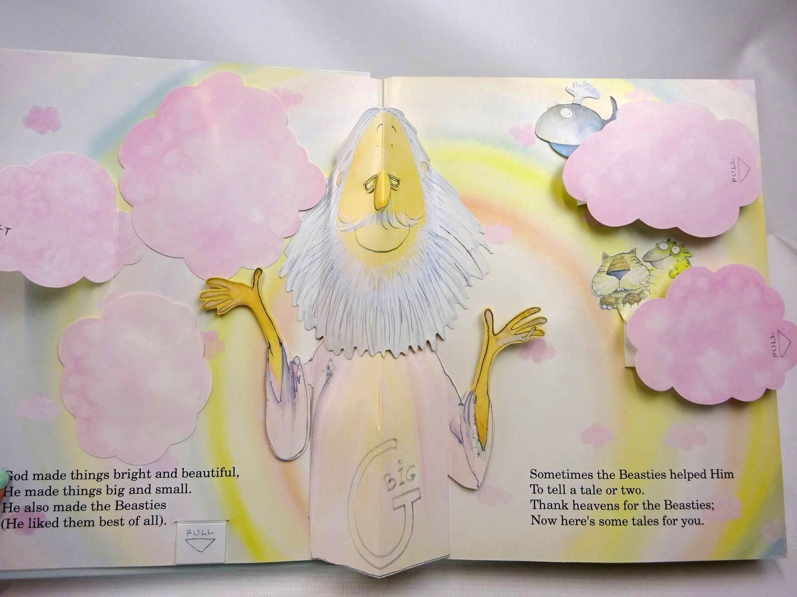 Photo of THE BIBLE BEASTIES written by Cole, Babette<br />Van Der Meer, Ron illustrated by Cole, Babette published by Marshall Pickering (STOCK CODE: 2126589)  for sale by Stella & Rose's Books