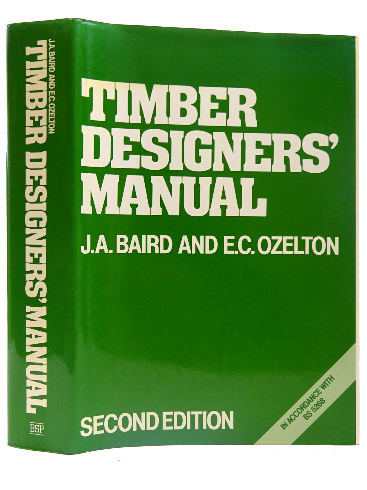 Photo of TIMBER DESIGNERS' MANUAL written by Ozelton, E.C.<br />Baird, J.A. published by Collins (STOCK CODE: 2126616)  for sale by Stella & Rose's Books