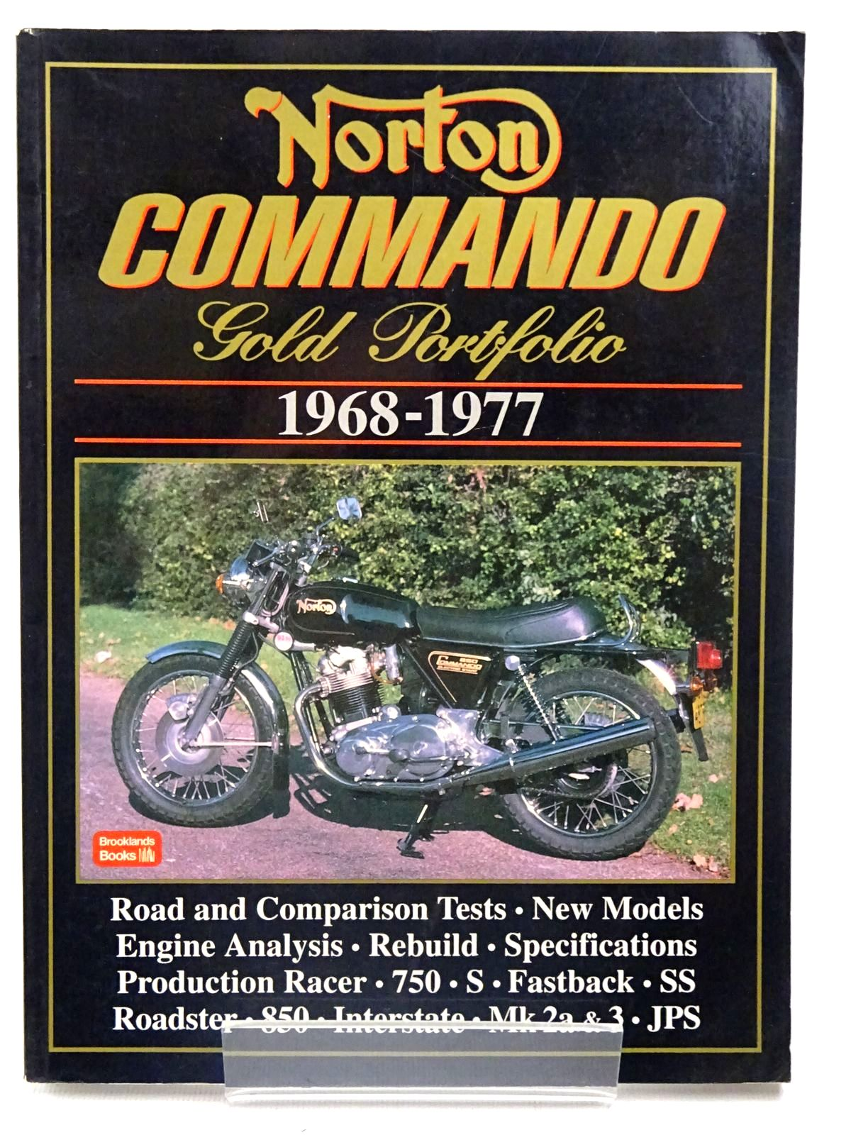 Photo of NORTON COMMANDO GOLD PORTFOLIO 1968-1977 written by Clarke, R.M. published by Brooklands Books (STOCK CODE: 2126622)  for sale by Stella & Rose's Books