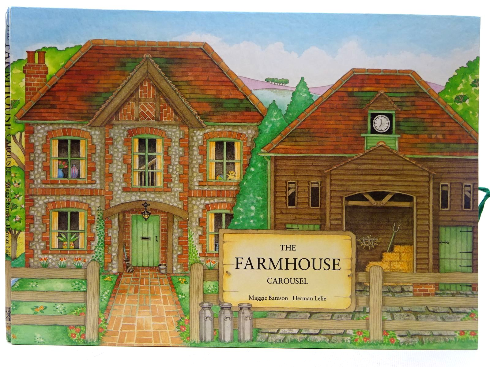 Photo of THE FARMHOUSE CAROUSEL written by Bateson, Maggie<br />Lelie, Herman published by Simon & Schuster (STOCK CODE: 2126637)  for sale by Stella & Rose's Books