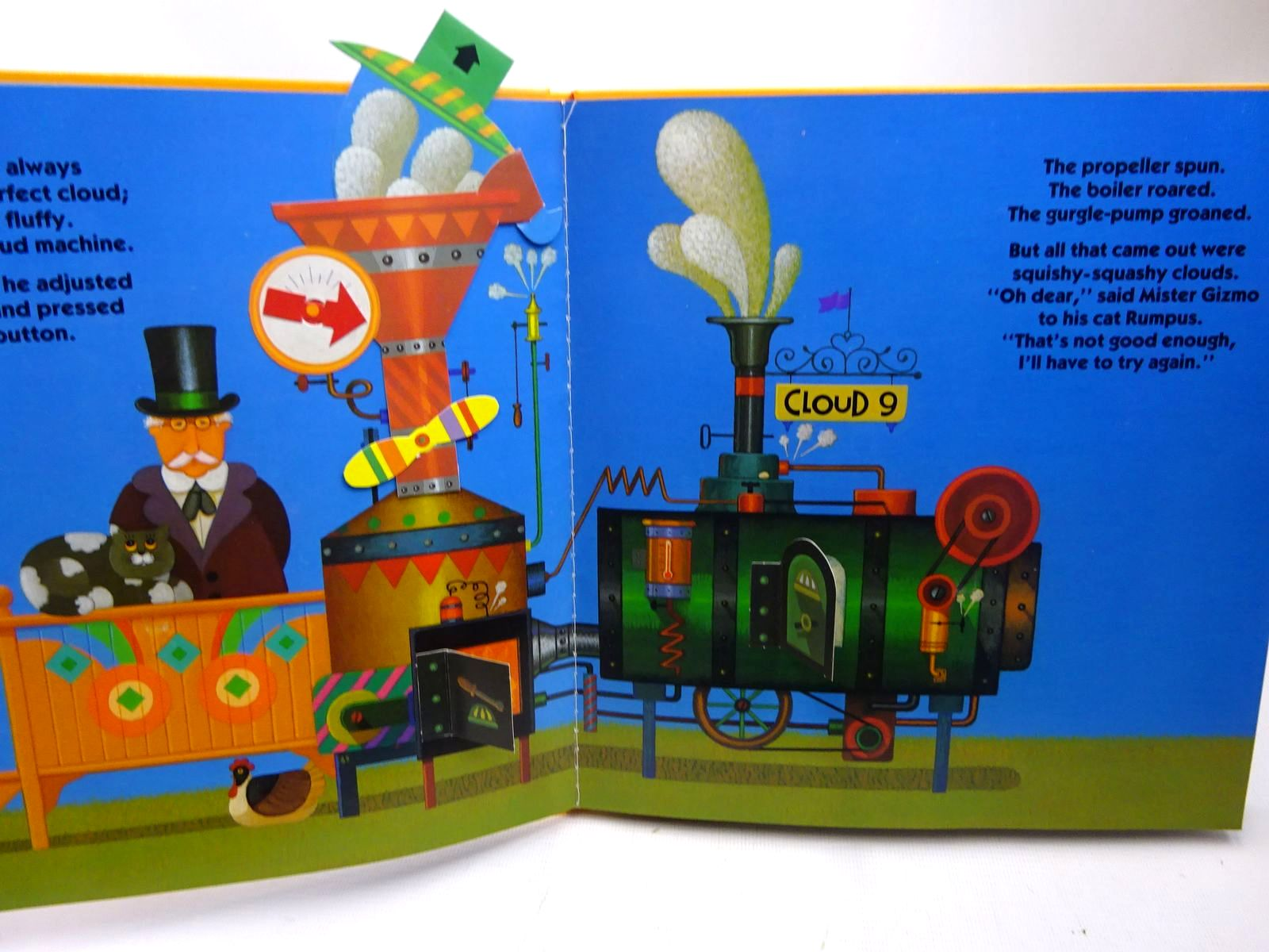 Photo of THE INCREDIBLE CLOUD MACHINE written by Wyllie, Stephen illustrated by Nannini, Roger published by Victor Gollancz Ltd. (STOCK CODE: 2126640)  for sale by Stella & Rose's Books