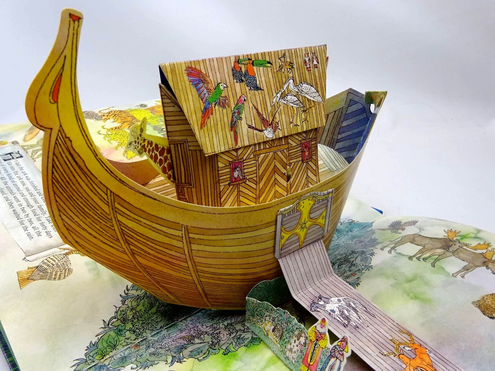 Photo of NOAH'S ARK THE POP-UP BOOK written by Wildsmith, Brian illustrated by Wildsmith, Brian published by Oxford University Press (STOCK CODE: 2126642)  for sale by Stella & Rose's Books