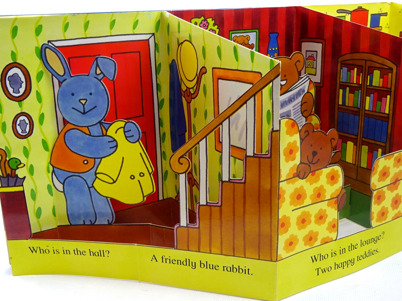 Photo of FOLD OUT DOLL'S HOUSE written by Hellen, Nancy published by Blitz Editions (STOCK CODE: 2126646)  for sale by Stella & Rose's Books
