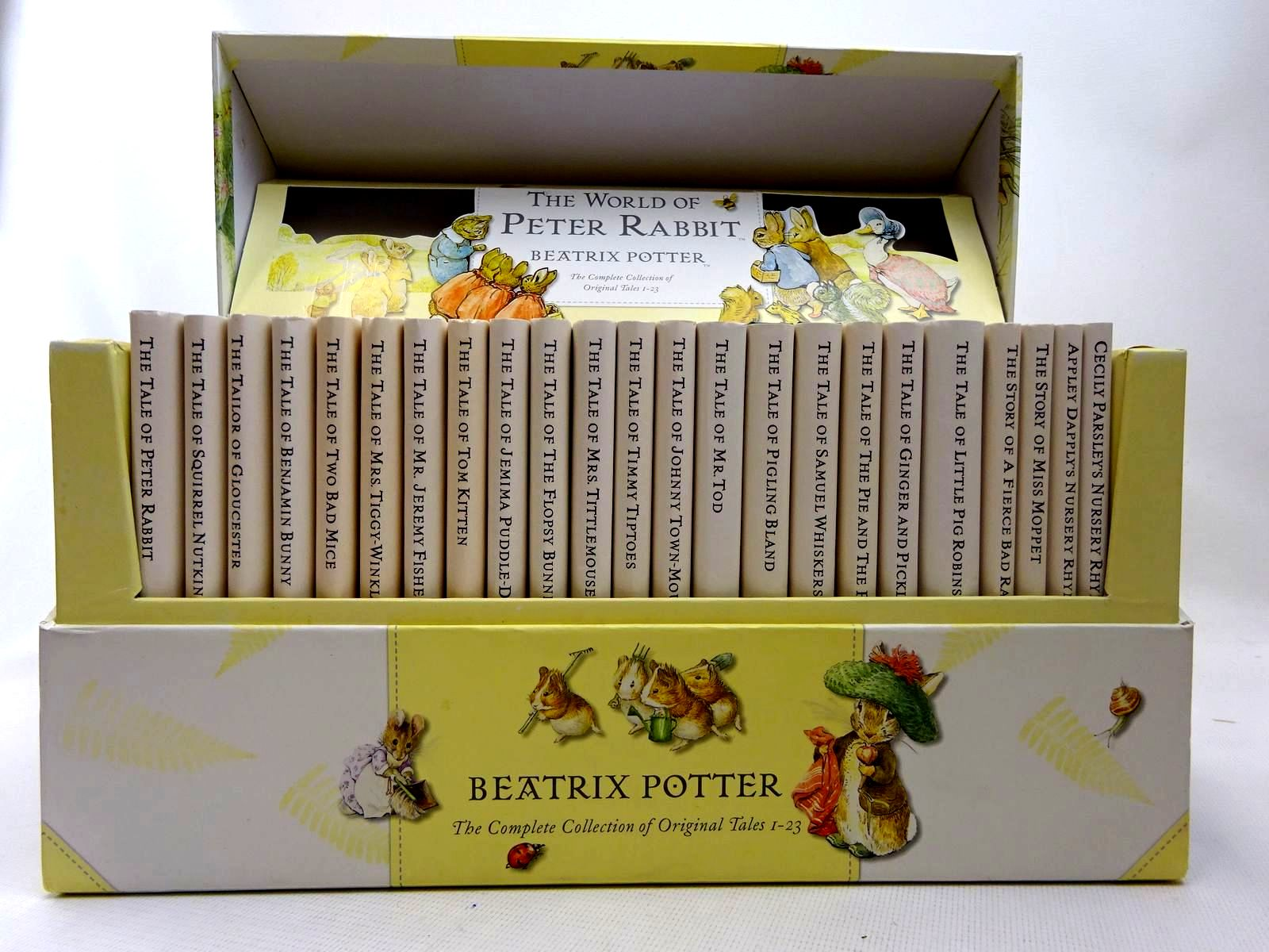 Photo of THE WORLD OF PETER RABBIT written by Potter, Beatrix illustrated by Potter, Beatrix published by Frederick Warne, Ted Smart (STOCK CODE: 2126695)  for sale by Stella & Rose's Books