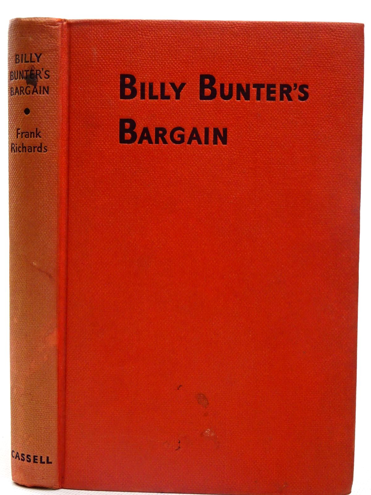 Photo of BILLY BUNTER'S BARGAIN written by Richards, Frank illustrated by Chapman, C.H. published by Cassell & Co. Ltd. (STOCK CODE: 2126709)  for sale by Stella & Rose's Books