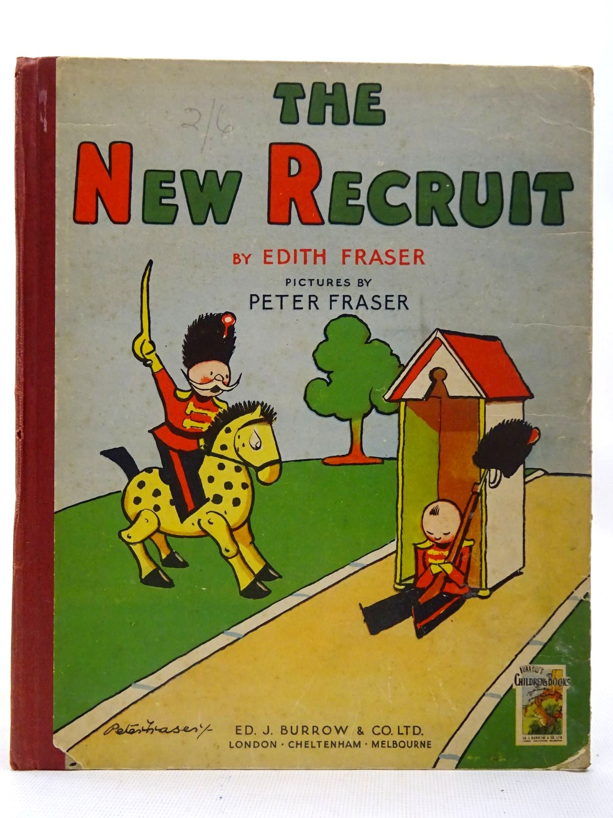 Photo of THE NEW RECRUIT written by Fraser, Edith illustrated by Fraser, Peter published by Ed. J. Burrow & Co. Ltd. (STOCK CODE: 2126737)  for sale by Stella & Rose's Books