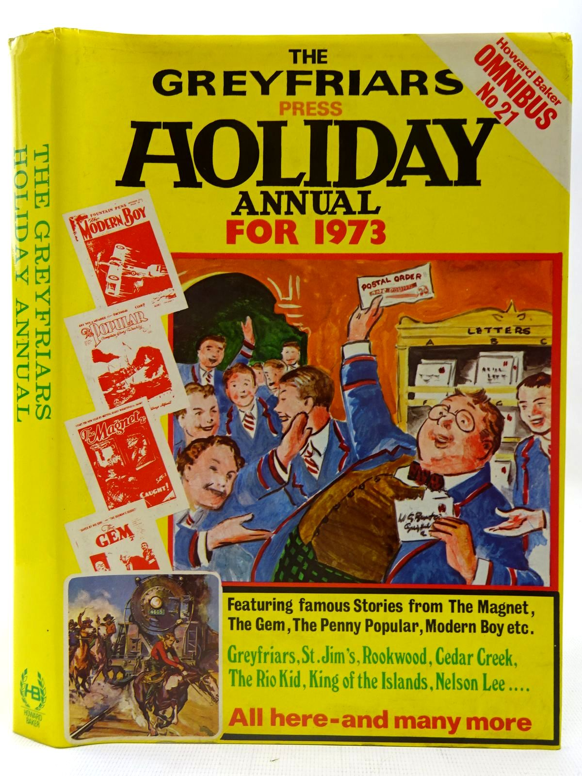 Photo of THE GREYFRIARS HOLIDAY ANNUAL FOR 1973 written by Richards, Frank<br />Brooks, Edwy Searles published by Howard Baker (STOCK CODE: 2126756)  for sale by Stella & Rose's Books