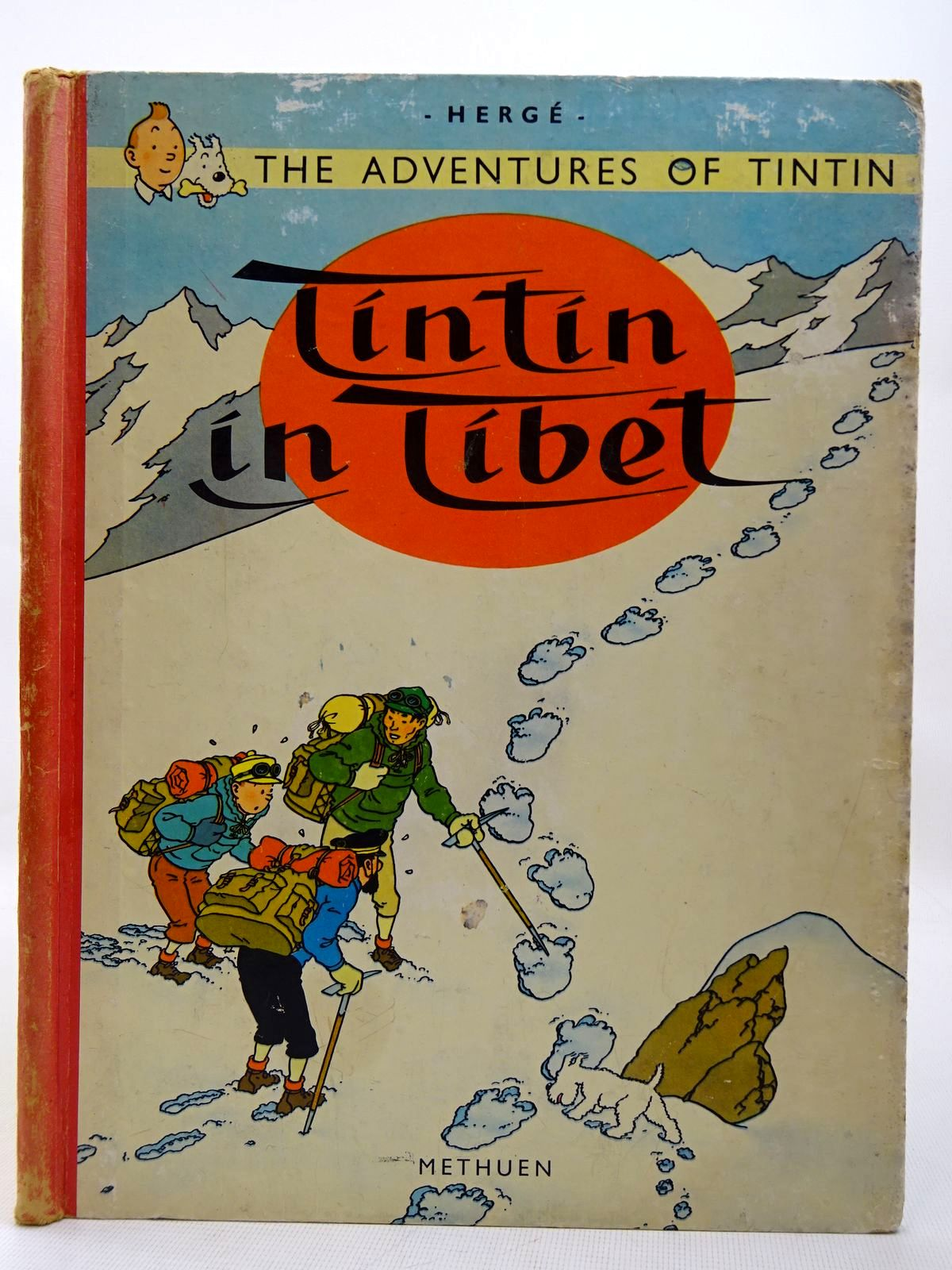 Photo of TINTIN IN TIBET written by Herge, illustrated by Herge, published by Methuen & Co. Ltd. (STOCK CODE: 2126828)  for sale by Stella & Rose's Books