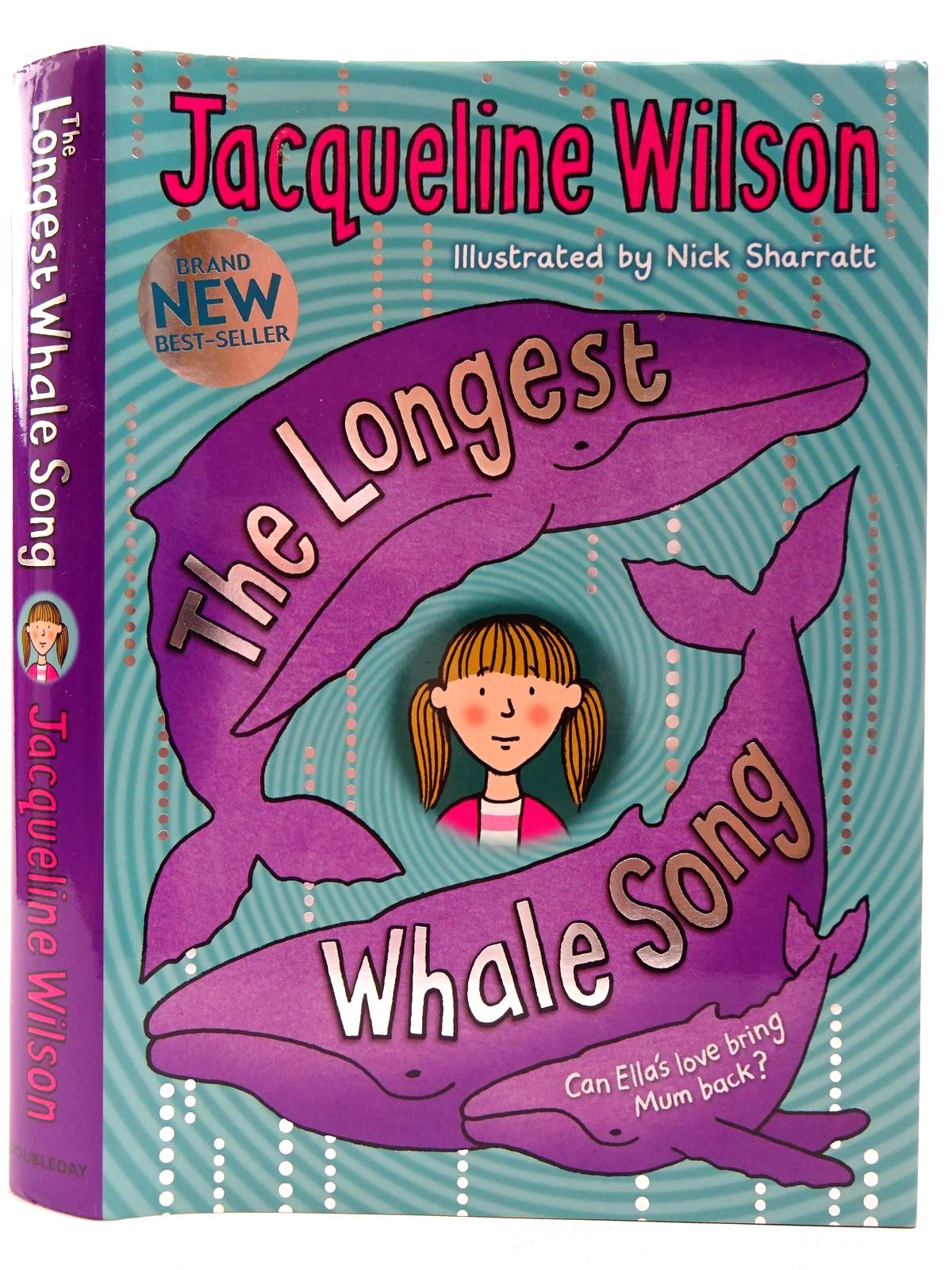 Photo of THE LONGEST WHALE SONG written by Wilson, Jacqueline illustrated by Sharratt, Nick published by Doubleday (STOCK CODE: 2126843)  for sale by Stella & Rose's Books