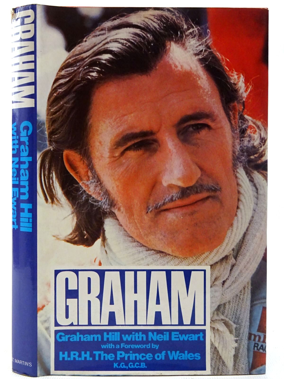 Photo of GRAHAM written by Hill, Graham<br />Ewart, Neil published by St Martin's Press (STOCK CODE: 2126851)  for sale by Stella & Rose's Books