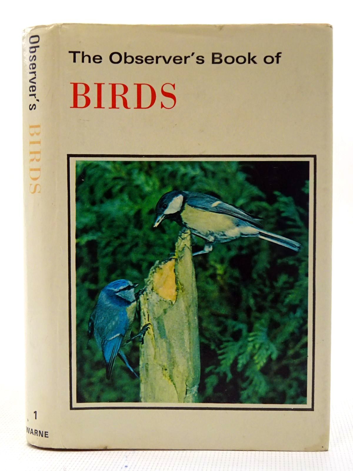 Photo of THE OBSERVER'S BOOK OF BIRDS written by Benson, S. Vere illustrated by Thorburn, Archibald published by Frederick Warne & Co Ltd. (STOCK CODE: 2126879)  for sale by Stella & Rose's Books