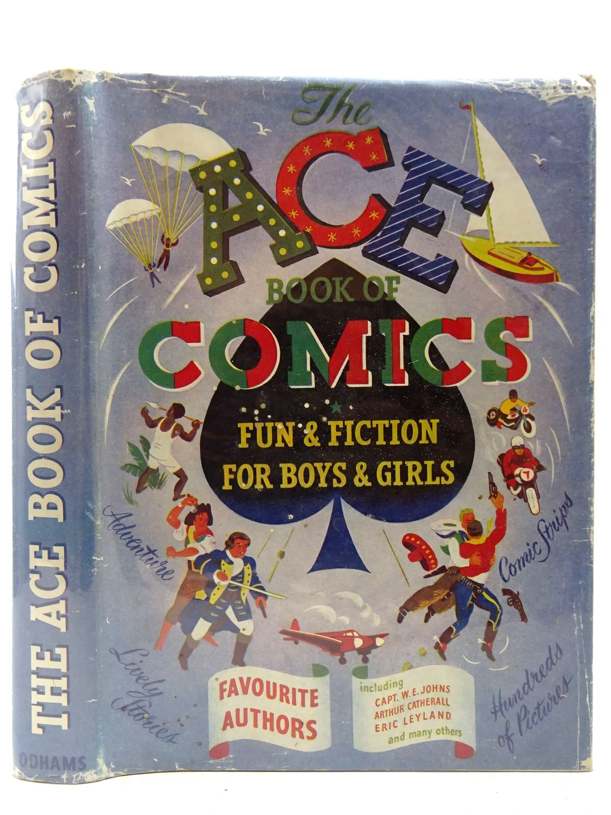 Photo of THE ACE BOOK OF COMICS written by Johns, W.E.<br />Catherall, Arthur<br />Duff, Douglas V.<br />et al, illustrated by Nickless, Will<br />Whittam, Geoffrey<br />et al.,<br />Orr, Cecil published by Odhams Press Ltd. (STOCK CODE: 2126959)  for sale by Stella & Rose's Books