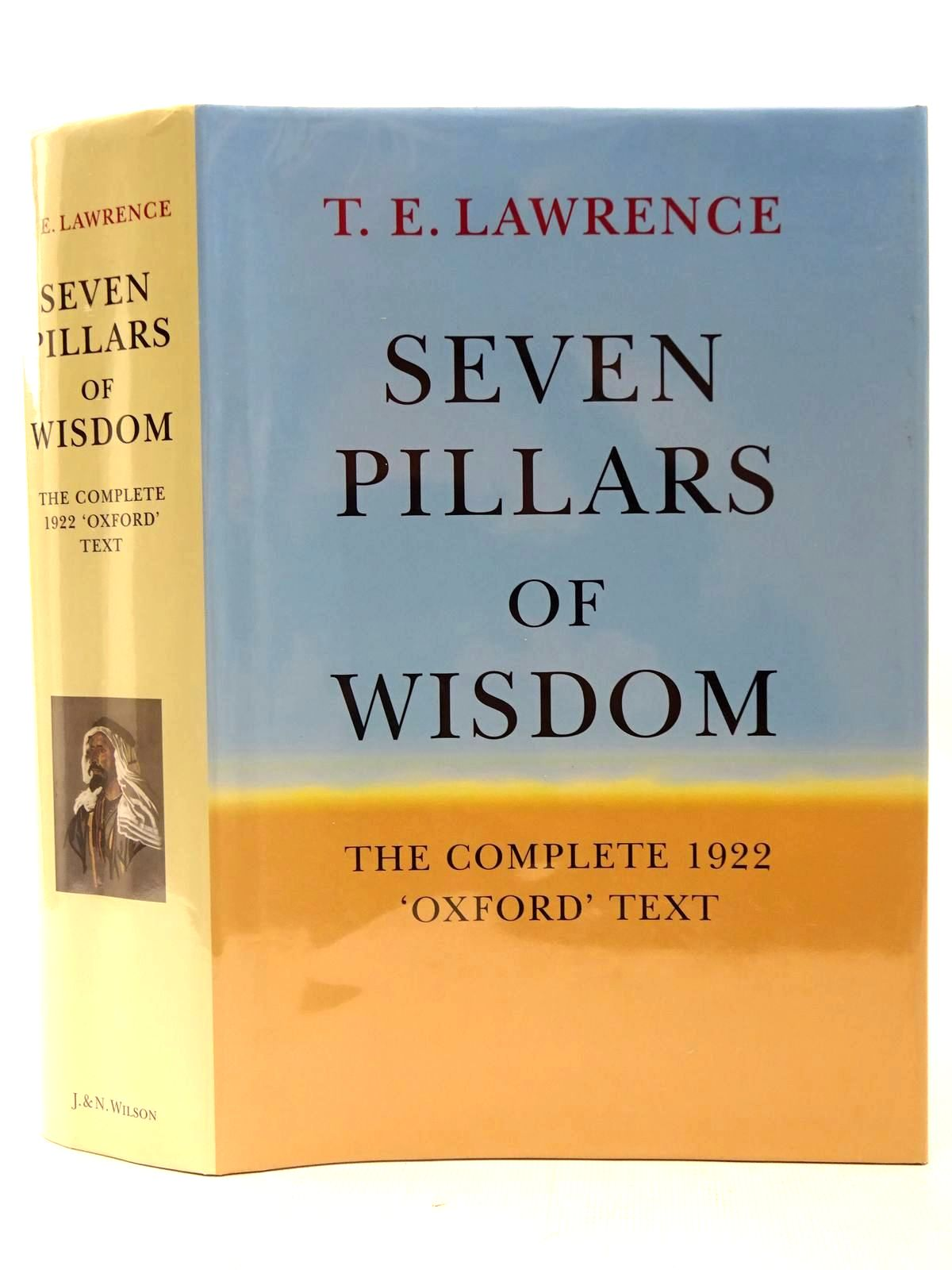 Photo of THE COMPLETE 1922 SEVEN PILLARS OF WISDOM THE 'OXFORD' TEXT