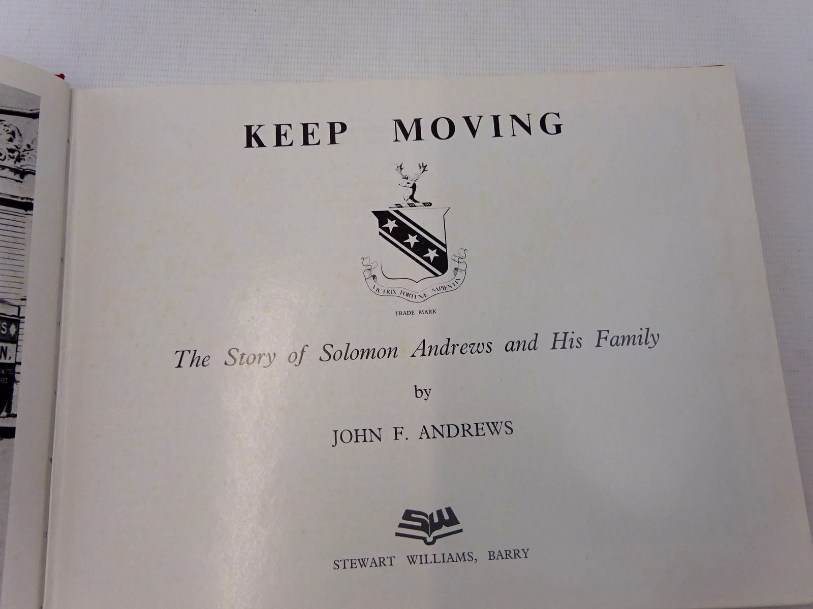 Photo of KEEP MOVING written by Andrews, John F. published by Stewart Williams (STOCK CODE: 2126969)  for sale by Stella & Rose's Books