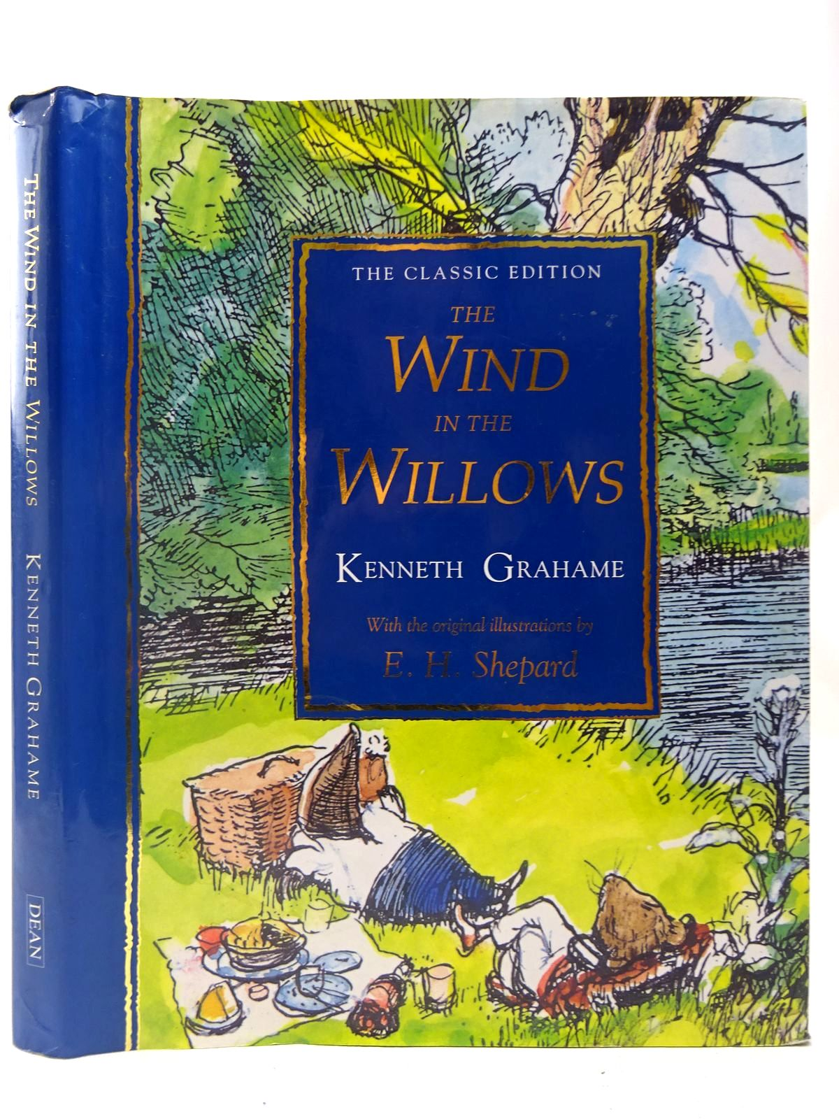 Photo of THE WIND IN THE WILLOWS - THE CLASSIC EDITION written by Grahame, Kenneth illustrated by Shepard, E.H. published by Dean (STOCK CODE: 2126988)  for sale by Stella & Rose's Books