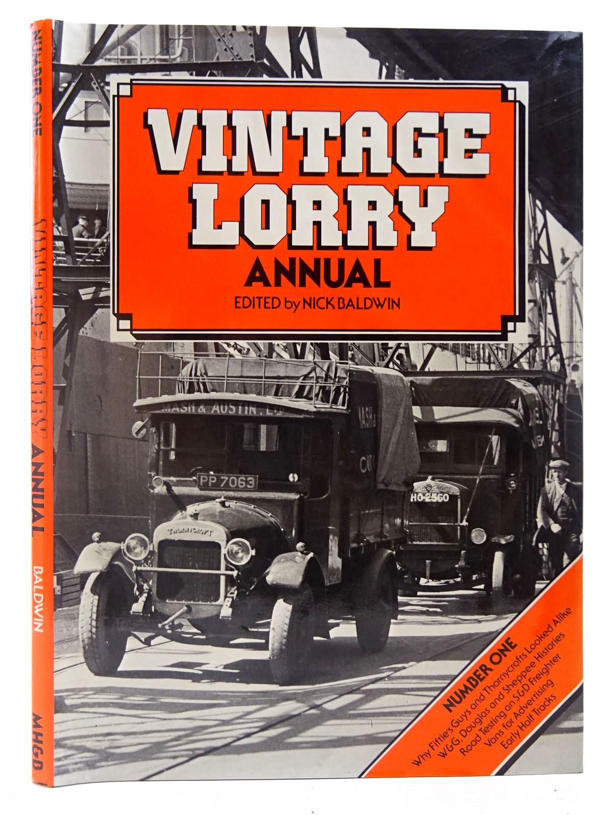 Photo of VINTAGE LORRY ANNUAL NUMBER ONE written by Baldwin, Nick published by Marshall Harris & Baldwin Ltd. (STOCK CODE: 2126993)  for sale by Stella & Rose's Books