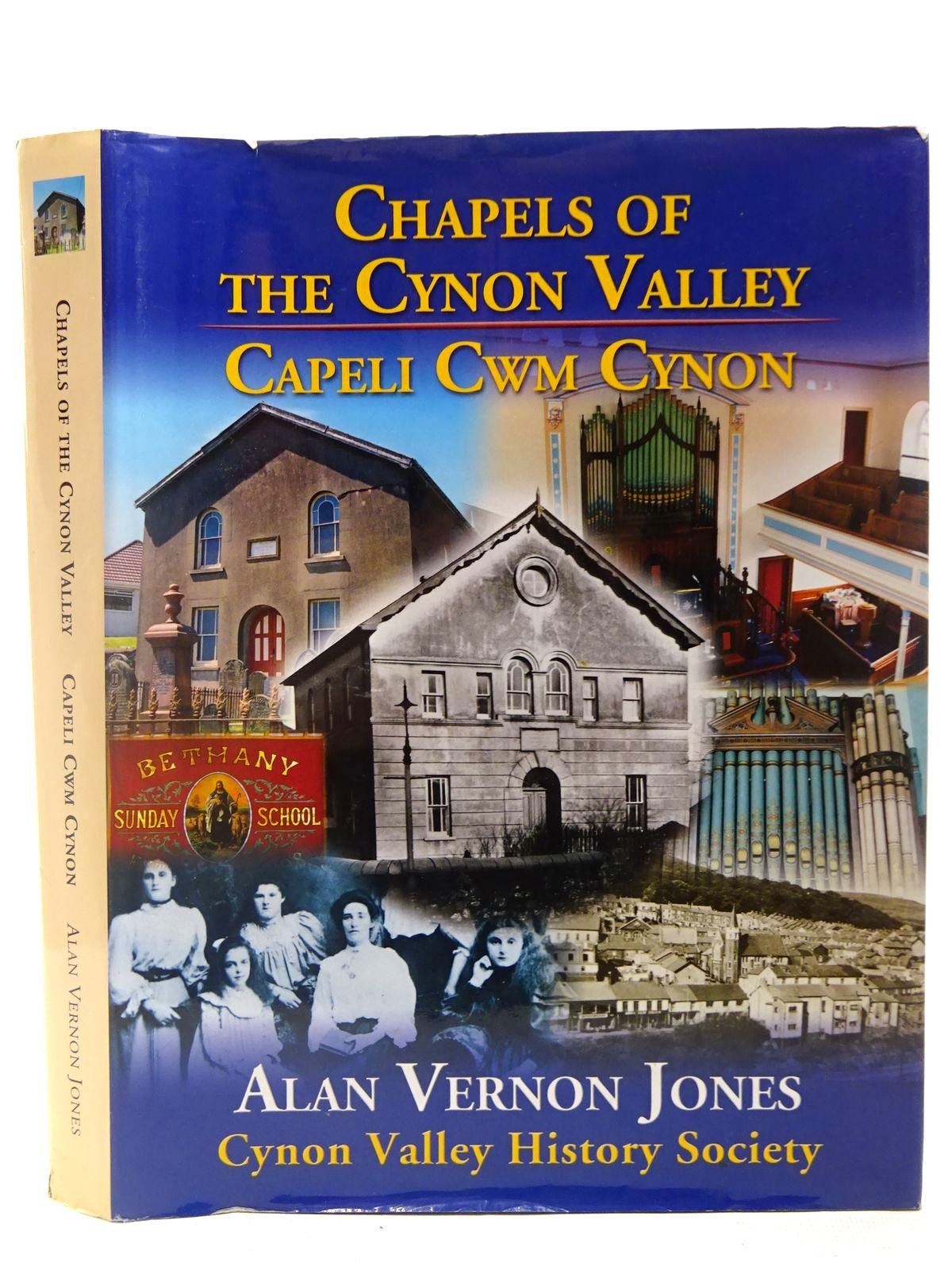Photo of CHAPELS OF THE CYNON VALLEY CAPELI CWM CYNON written by Jones, Alan Vernon published by Cynon Valley History Society (STOCK CODE: 2127002)  for sale by Stella & Rose's Books