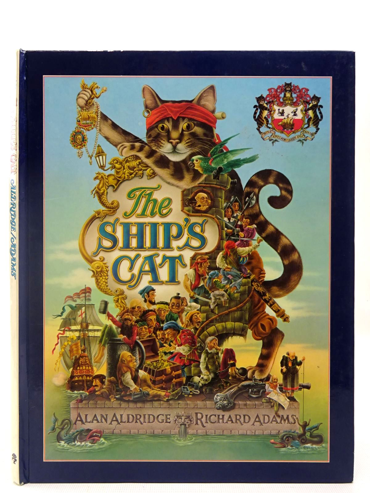 Photo of THE SHIP'S CAT written by Adams, Richard illustrated by Aldridge, Alan published by Jonathan Cape (STOCK CODE: 2127003)  for sale by Stella & Rose's Books