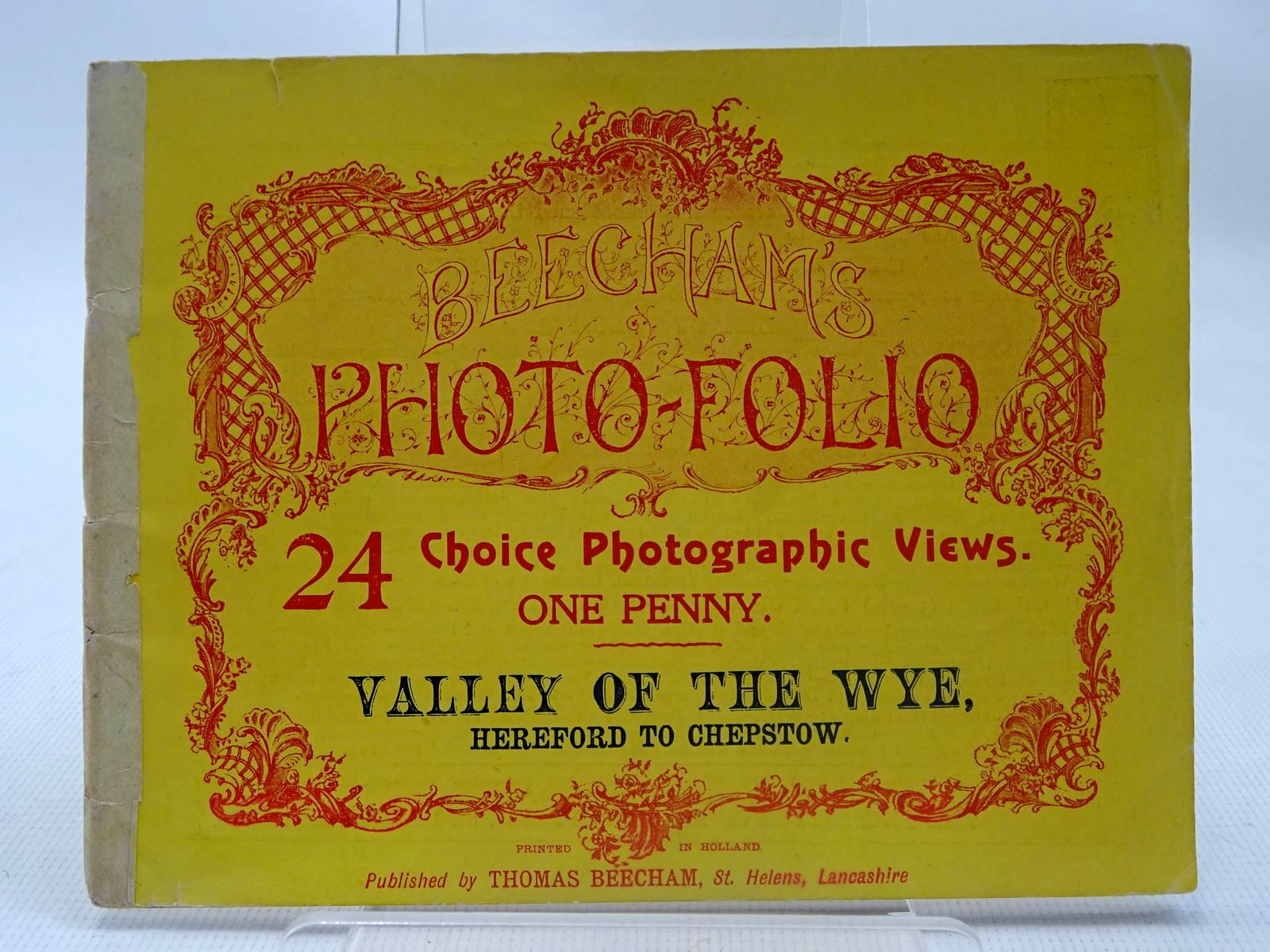 Photo of BEECHAM'S PHOTO-FOLIO VALLEY OF THE WYE, HEREFORD TO CHEPSTOW published by Thomas Beecham (STOCK CODE: 2127008)  for sale by Stella & Rose's Books