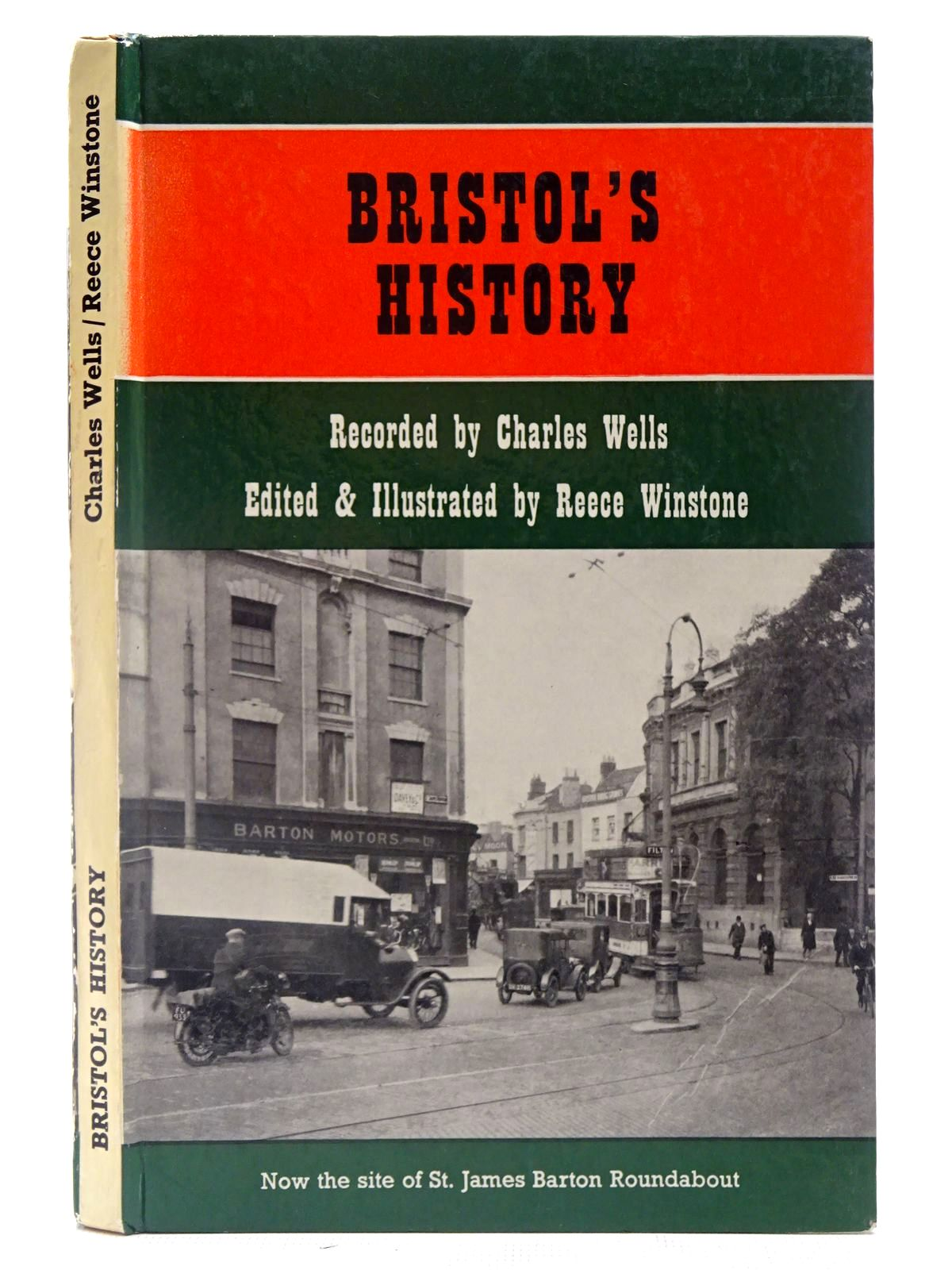 Photo of BRISTOL'S HISTORY written by Wells, Charles<br />Winstone, Reece published by Reece Winstone (STOCK CODE: 2127026)  for sale by Stella & Rose's Books