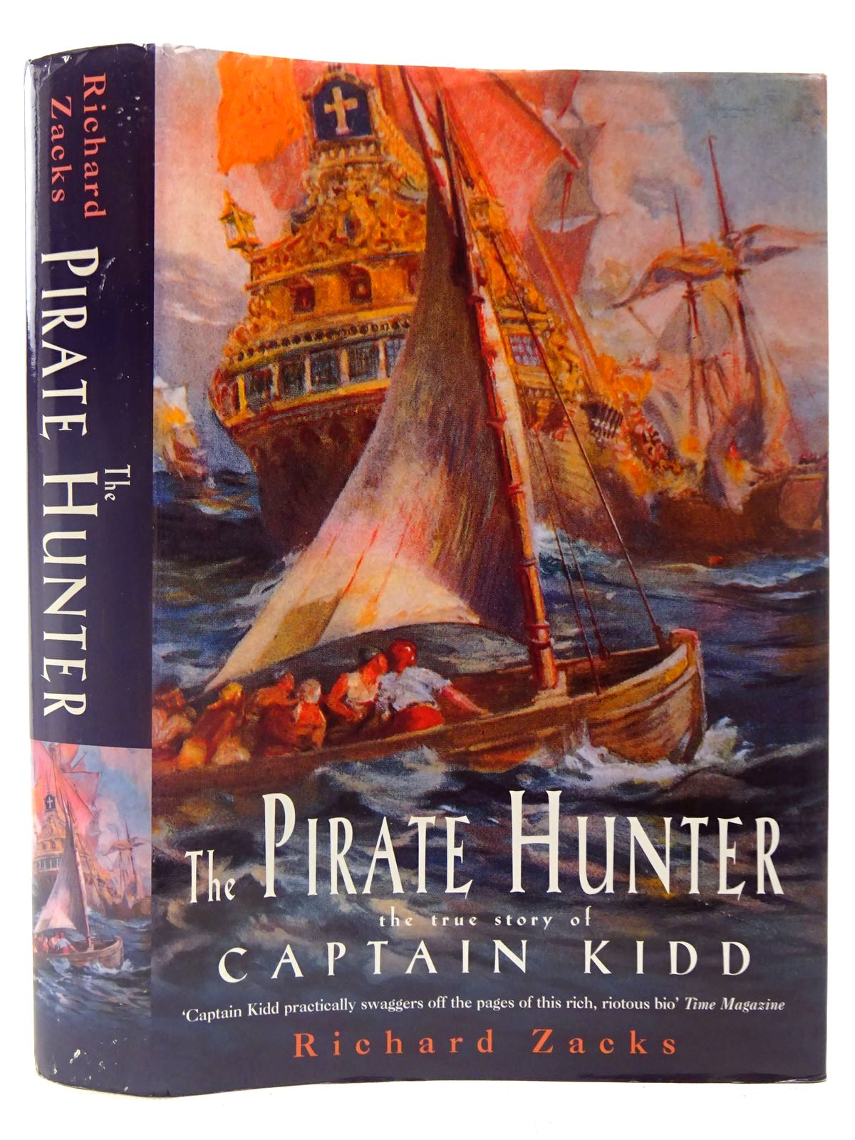Photo of THE PIRATE HUNTER THE TRUE STORY OF CAPTAIN KIDD written by Zacks, Richard published by Review (STOCK CODE: 2127031)  for sale by Stella & Rose's Books