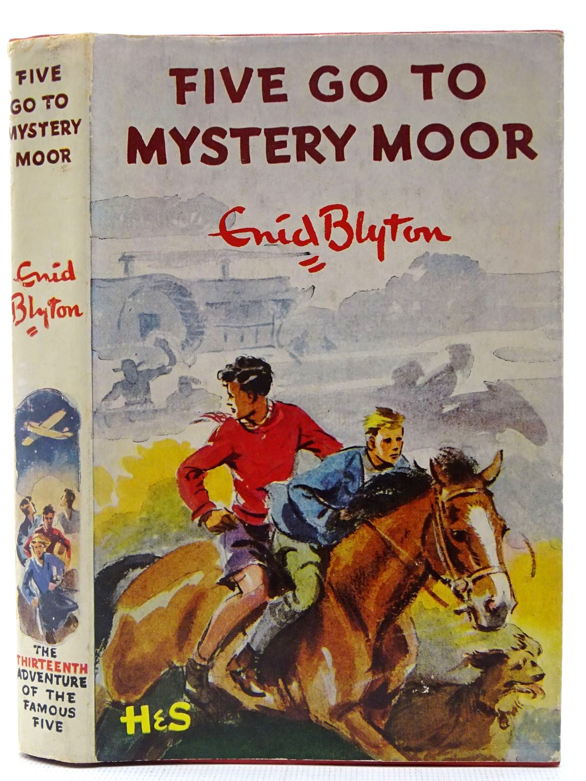 Photo of FIVE GO TO MYSTERY MOOR written by Blyton, Enid illustrated by Soper, Eileen published by Brockhampton Press (STOCK CODE: 2127074)  for sale by Stella & Rose's Books