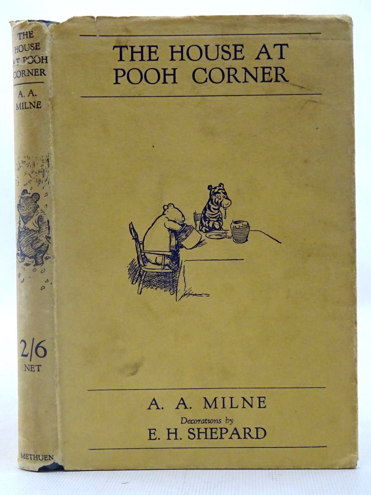 Photo of THE HOUSE AT POOH CORNER written by Milne, A.A. illustrated by Shepard, E.H. published by Methuen & Co. Ltd. (STOCK CODE: 2127076)  for sale by Stella & Rose's Books