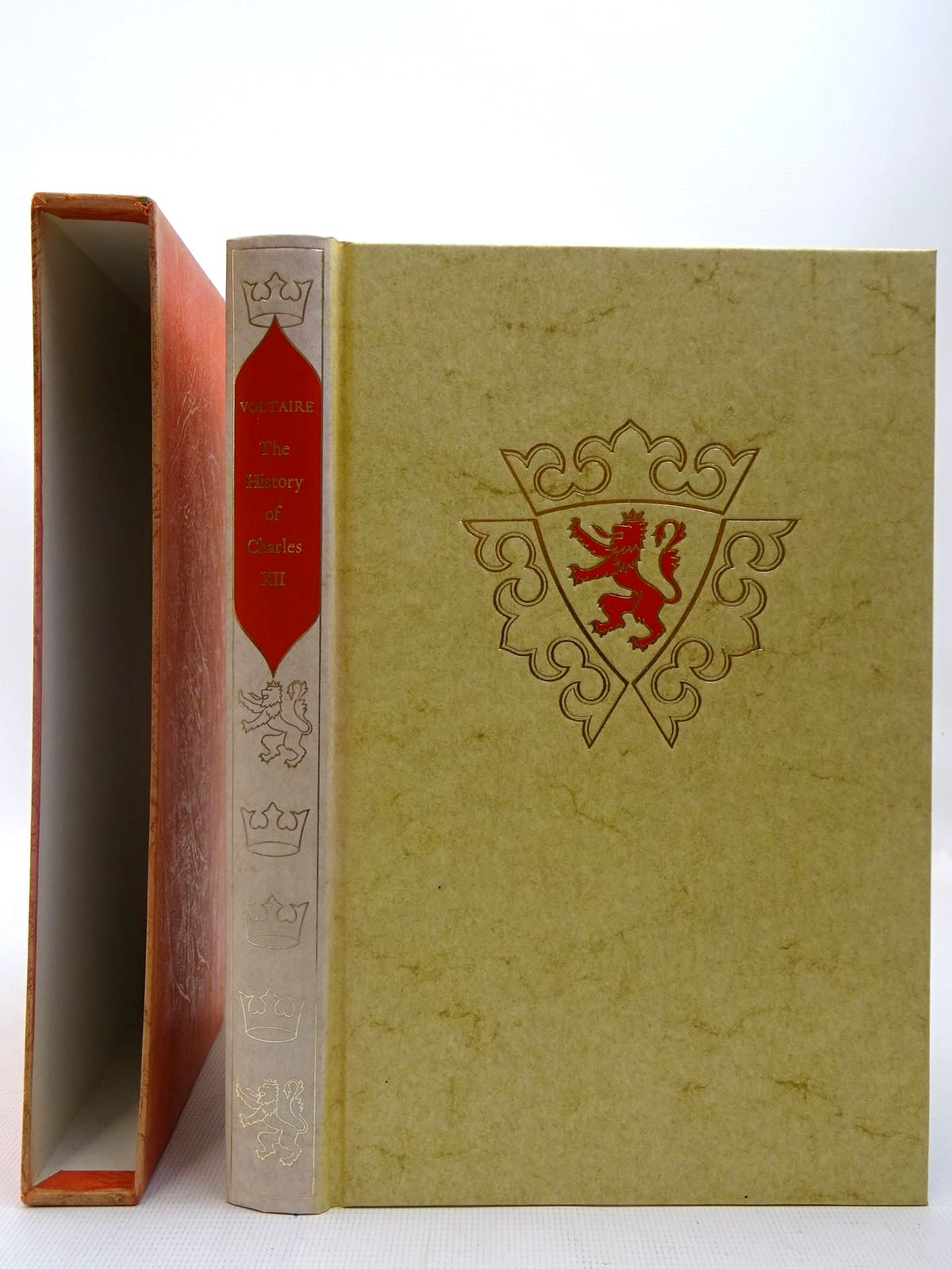 Photo of THE HISTORY OF CHARLES XII written by De Voltaire, Francois-Marie Arouet published by Folio Society (STOCK CODE: 2127087)  for sale by Stella & Rose's Books