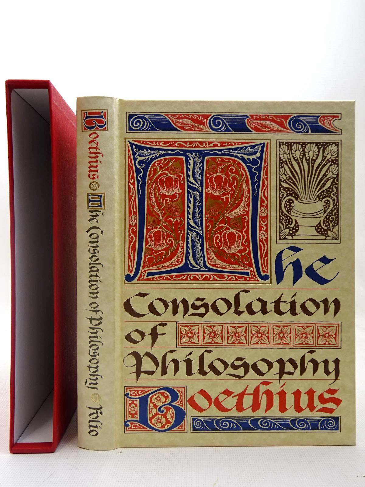 Photo of THE CONSOLATION OF PHILOSOPHY written by Boethius, <br />Watts, V.E. published by Folio Society (STOCK CODE: 2127088)  for sale by Stella & Rose's Books