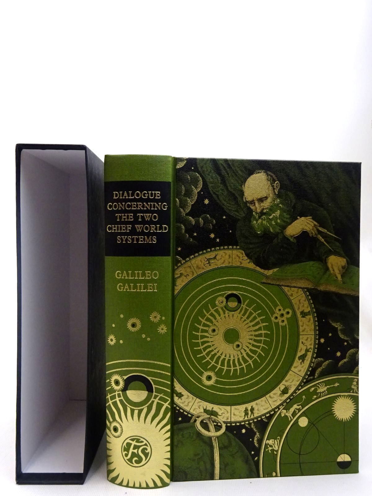 Photo of DIALOGUE CONCERNING THE TWO CHIEF WORLD SYSTEMS: PTOLEMAIC AND COPERNICAN written by Galilei, Galileo<br />Drake, Stillman<br />Einstein, Albert<br />Sobel, Dava published by Folio Society (STOCK CODE: 2127100)  for sale by Stella & Rose's Books